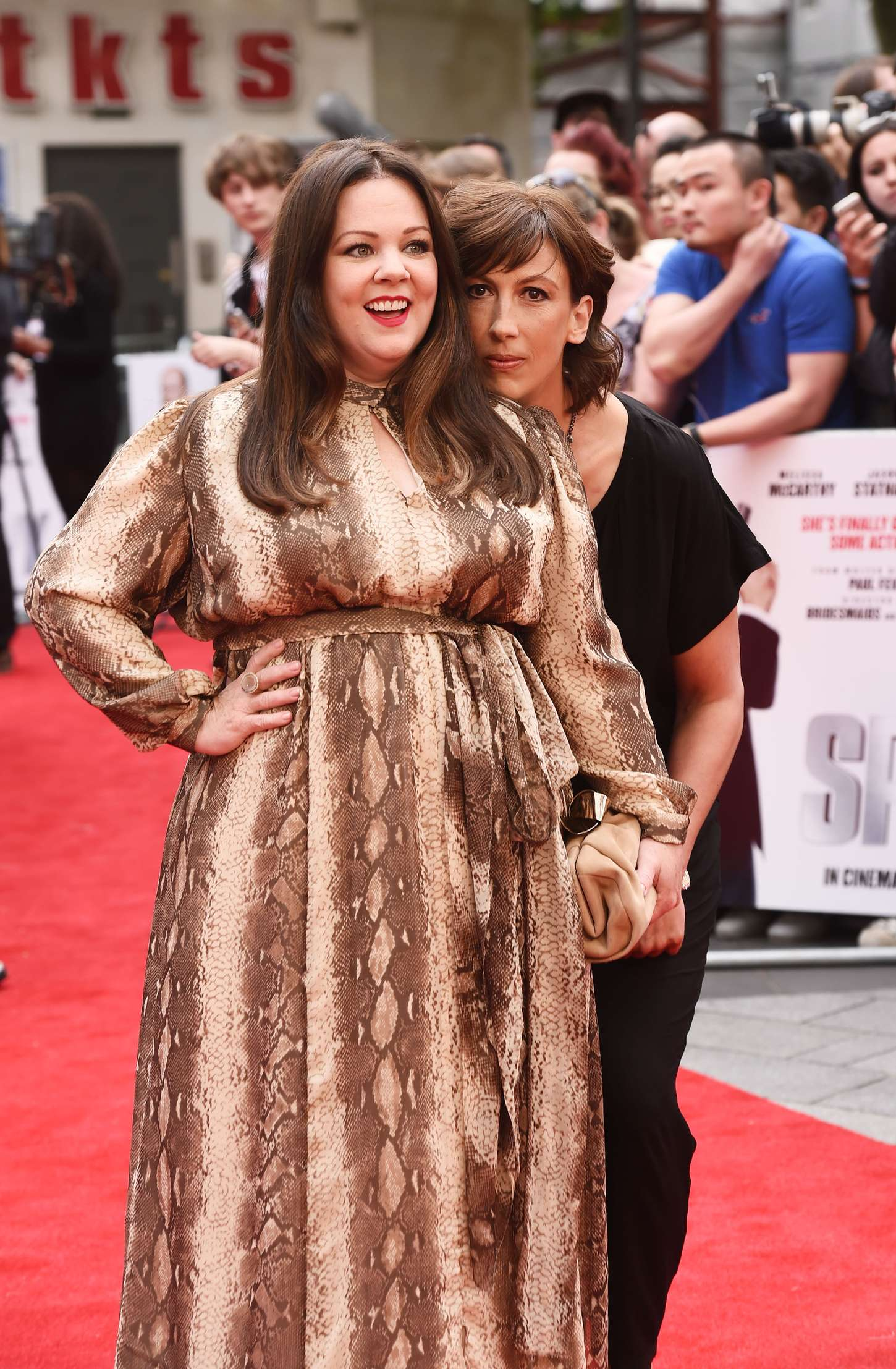 Melissa McCarthy Spy Premiere in London
