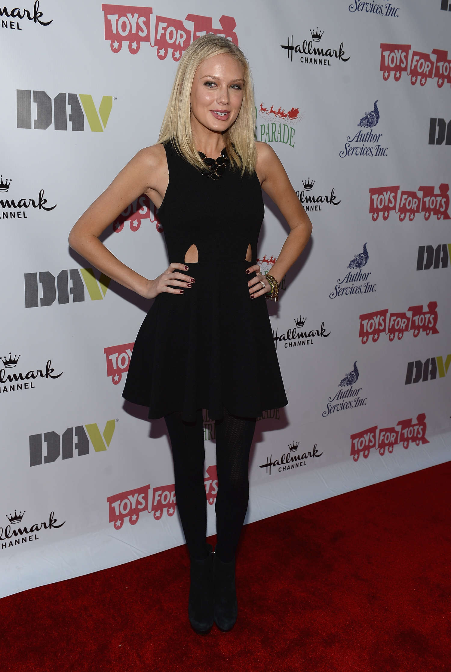 Melissa Ordway Annual Hollywood Christmas Parade in Hollywood