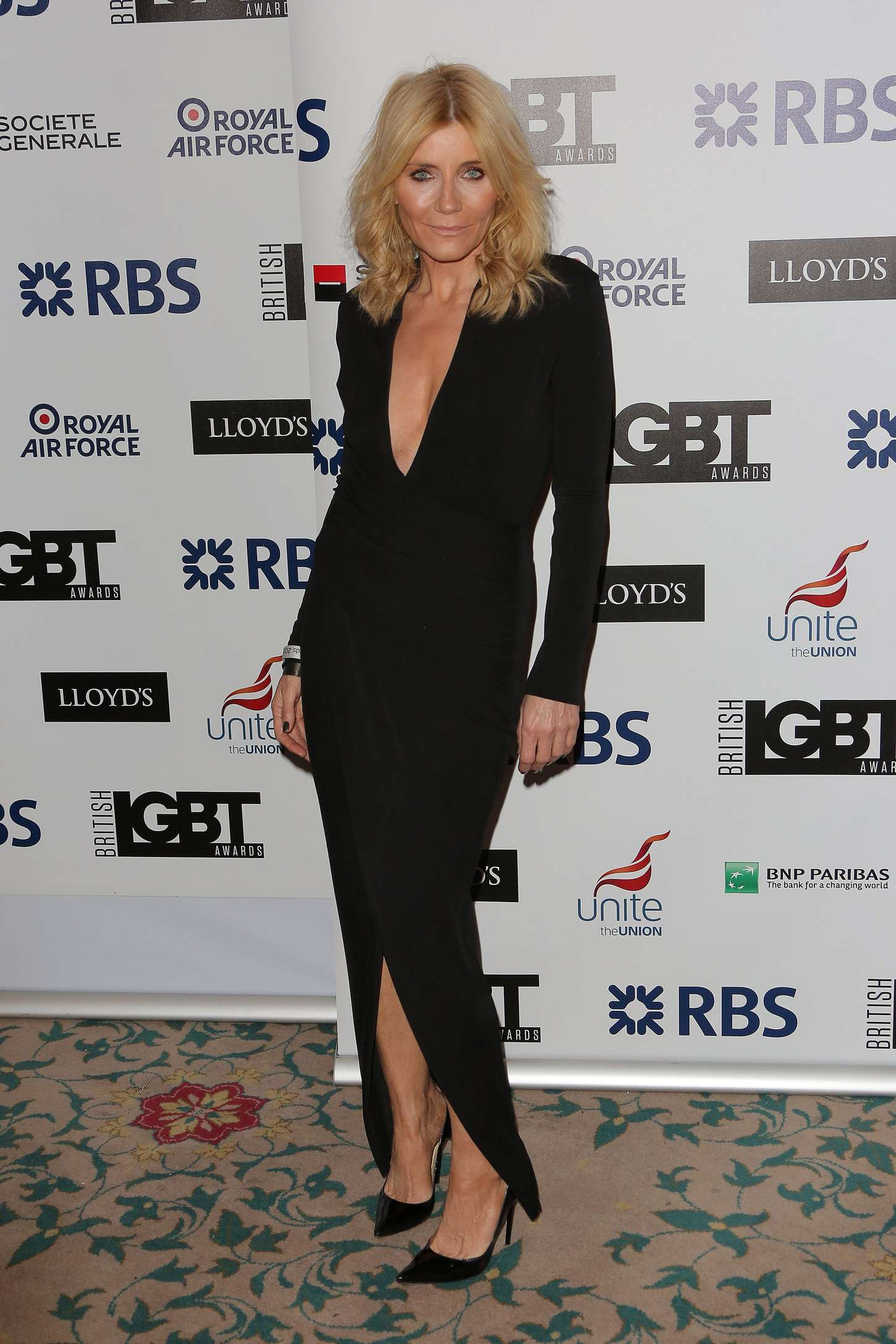 Michelle Collins LGBT Awards in London
