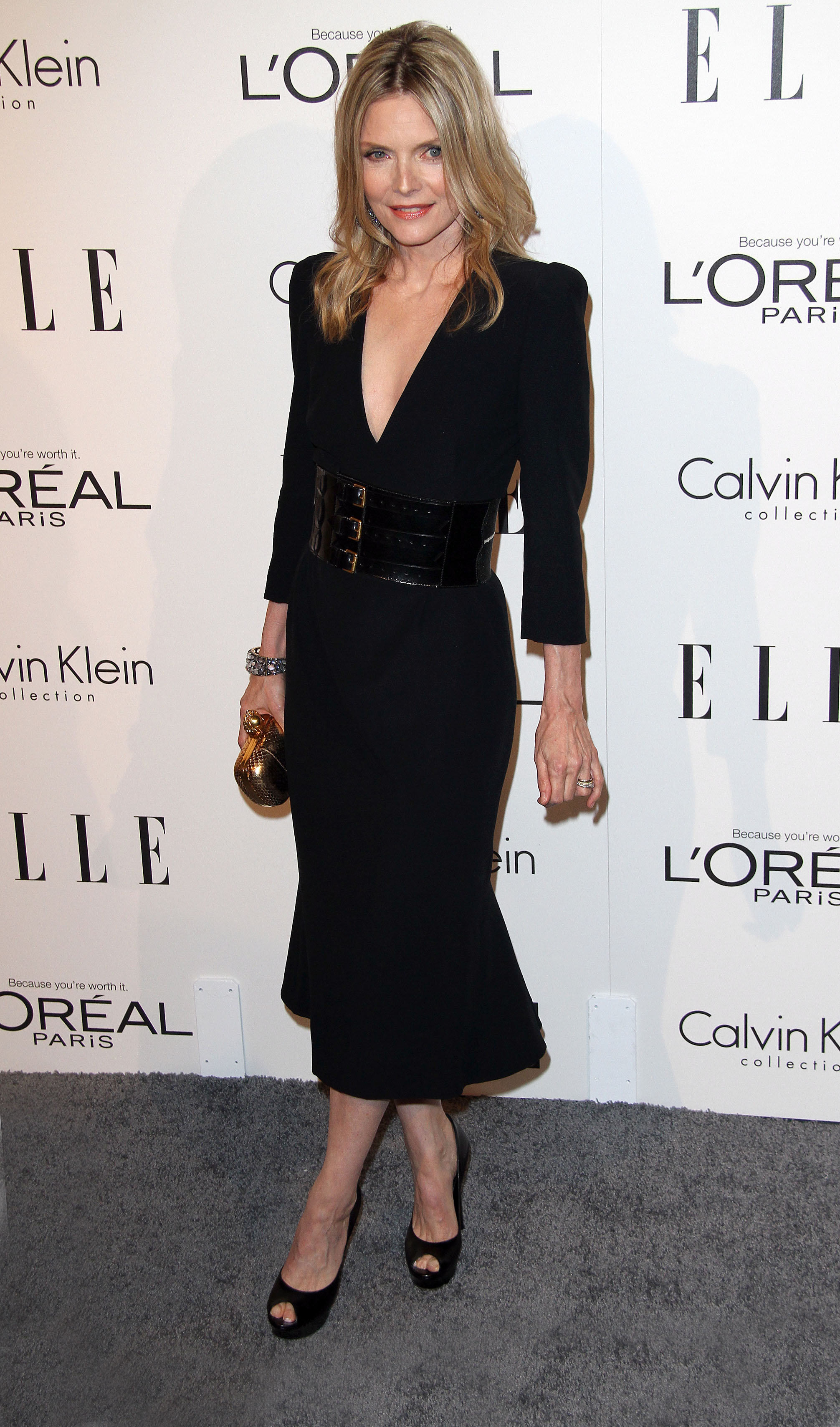 Michelle Pfeiffer at Elle Women in Holywood Tribute in Los Angeles