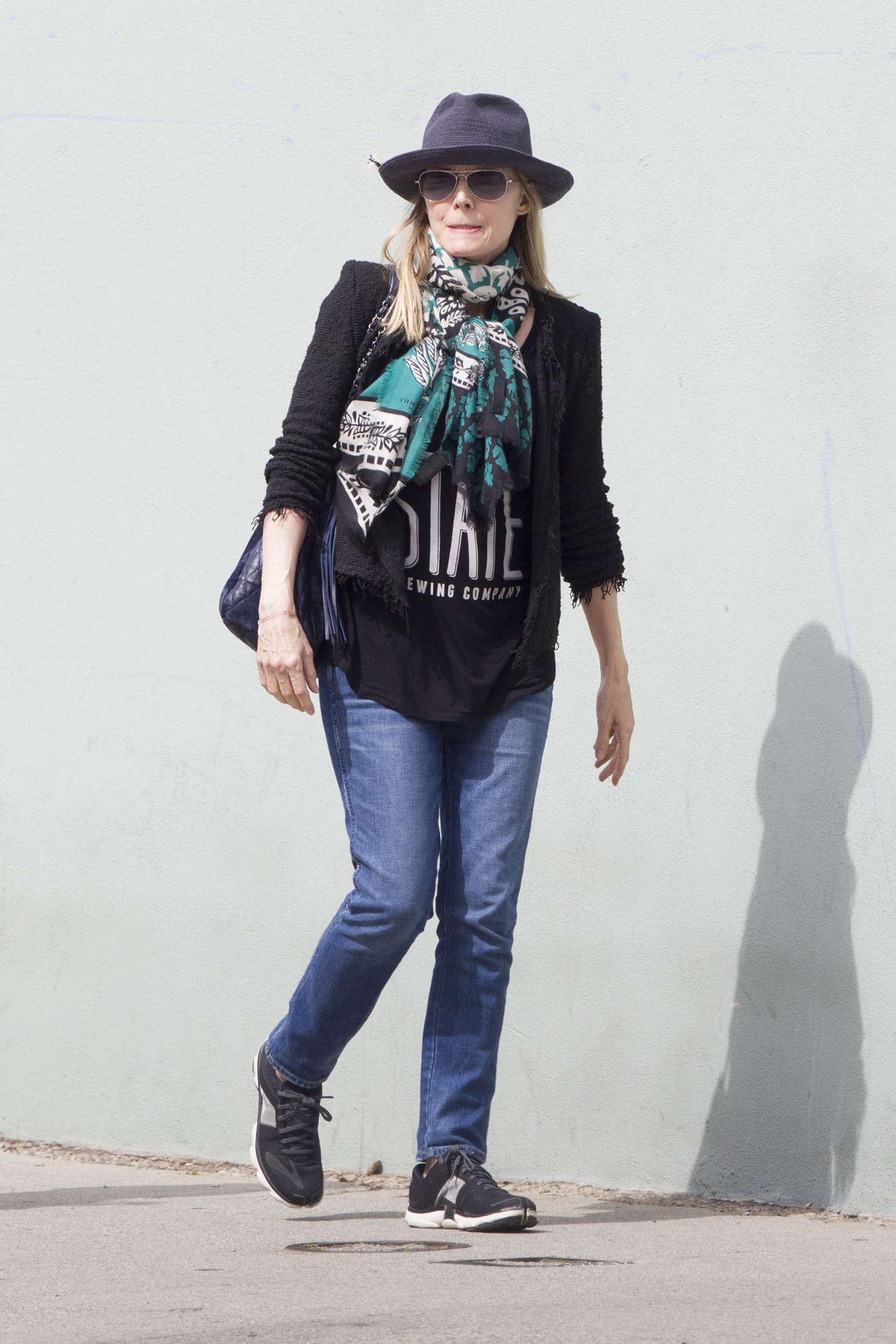 Michelle Pfeiffer in Jeans out in Santa Monica