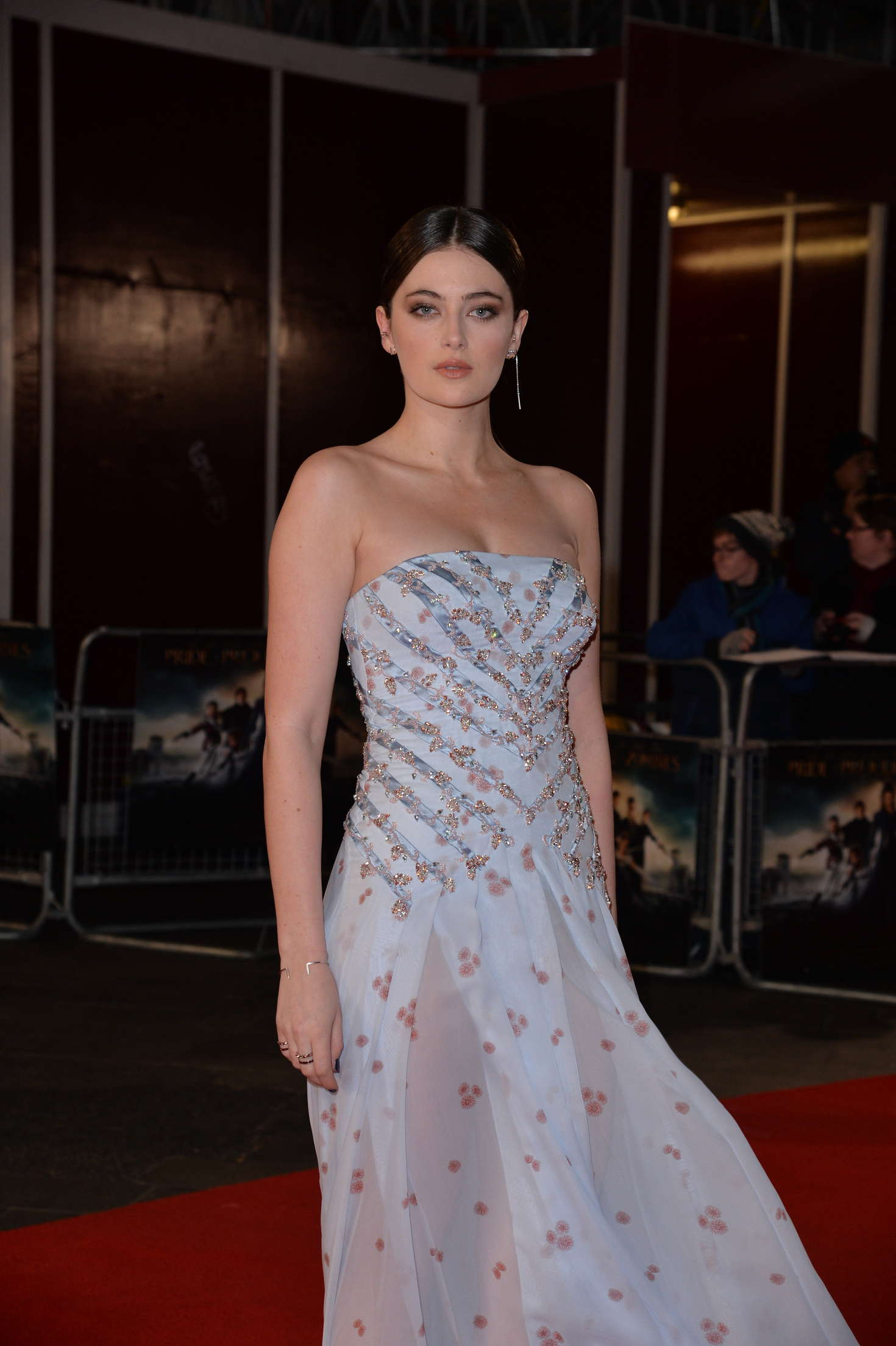 Millie Brady Pride and Prejudice and Zombies Premiere in London
