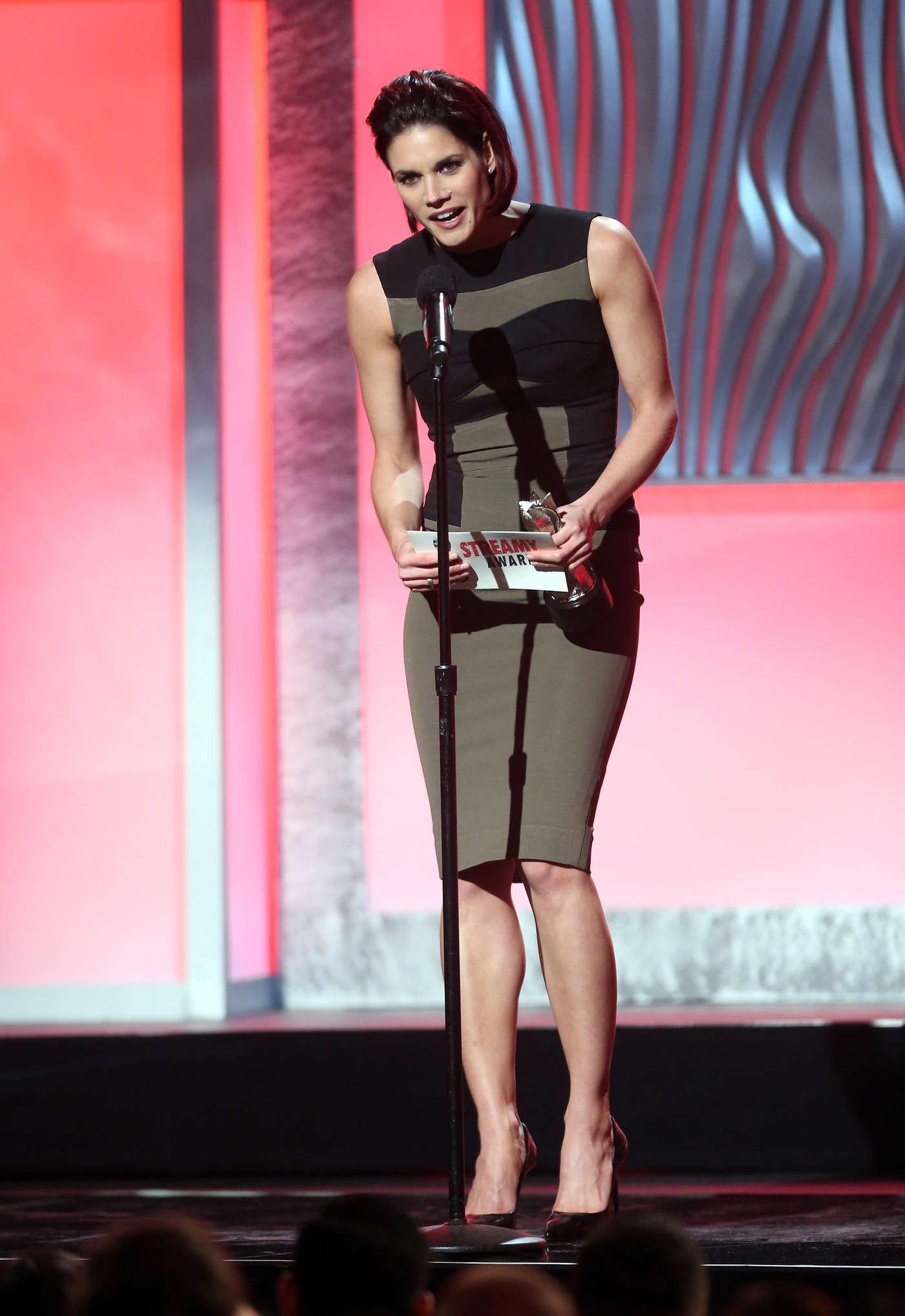 Missy Peregrym Annual Streamy Awards in Hollywood