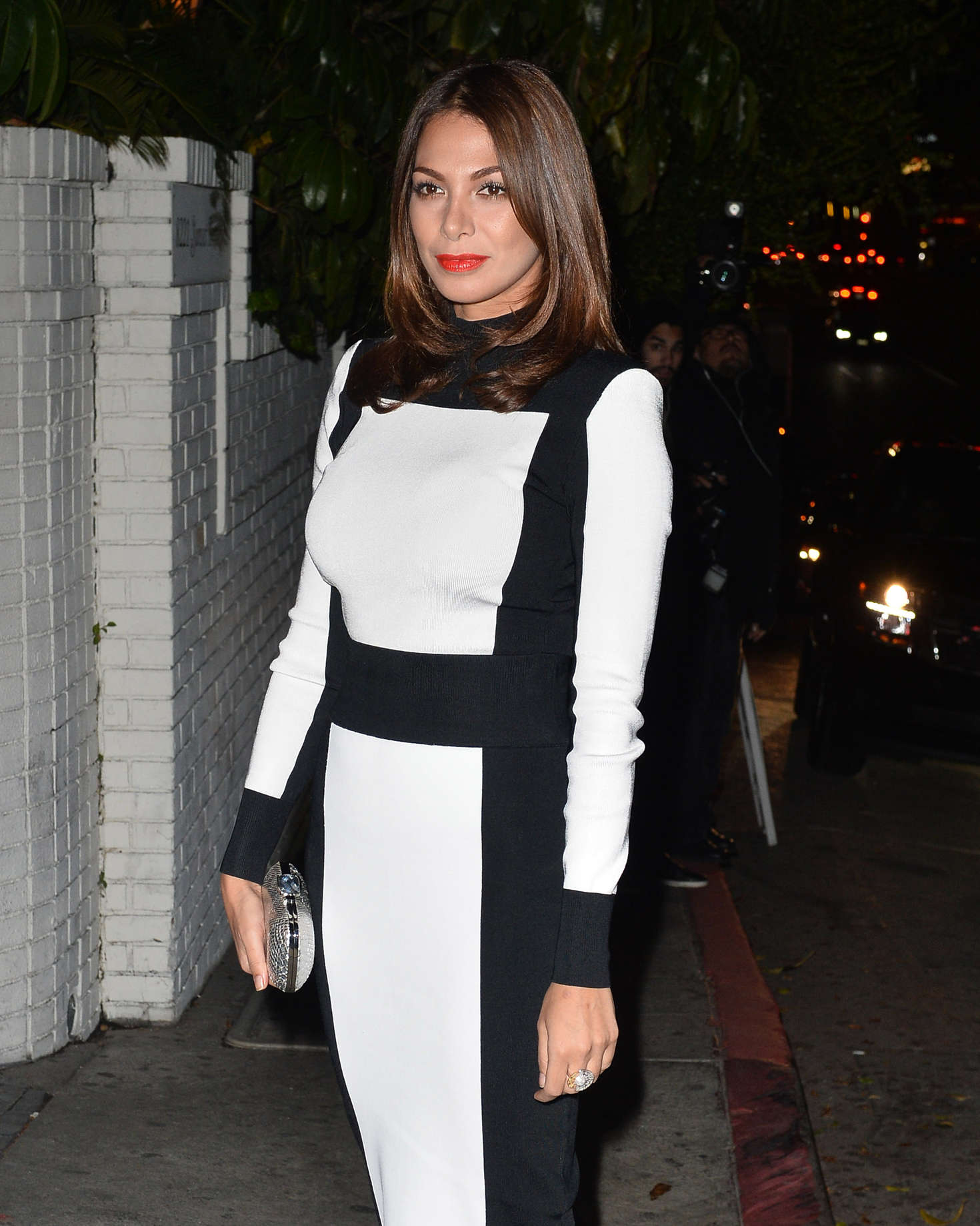 Moran Atias Arrives to the W Magazine Golden Globe Party in Los Angeles