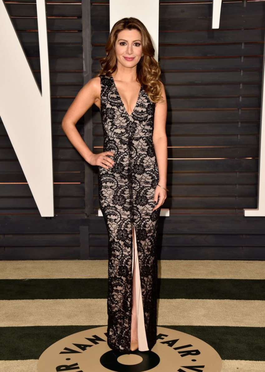 Nasim Pedrad Vanity Fair Oscar Party in Hollywood