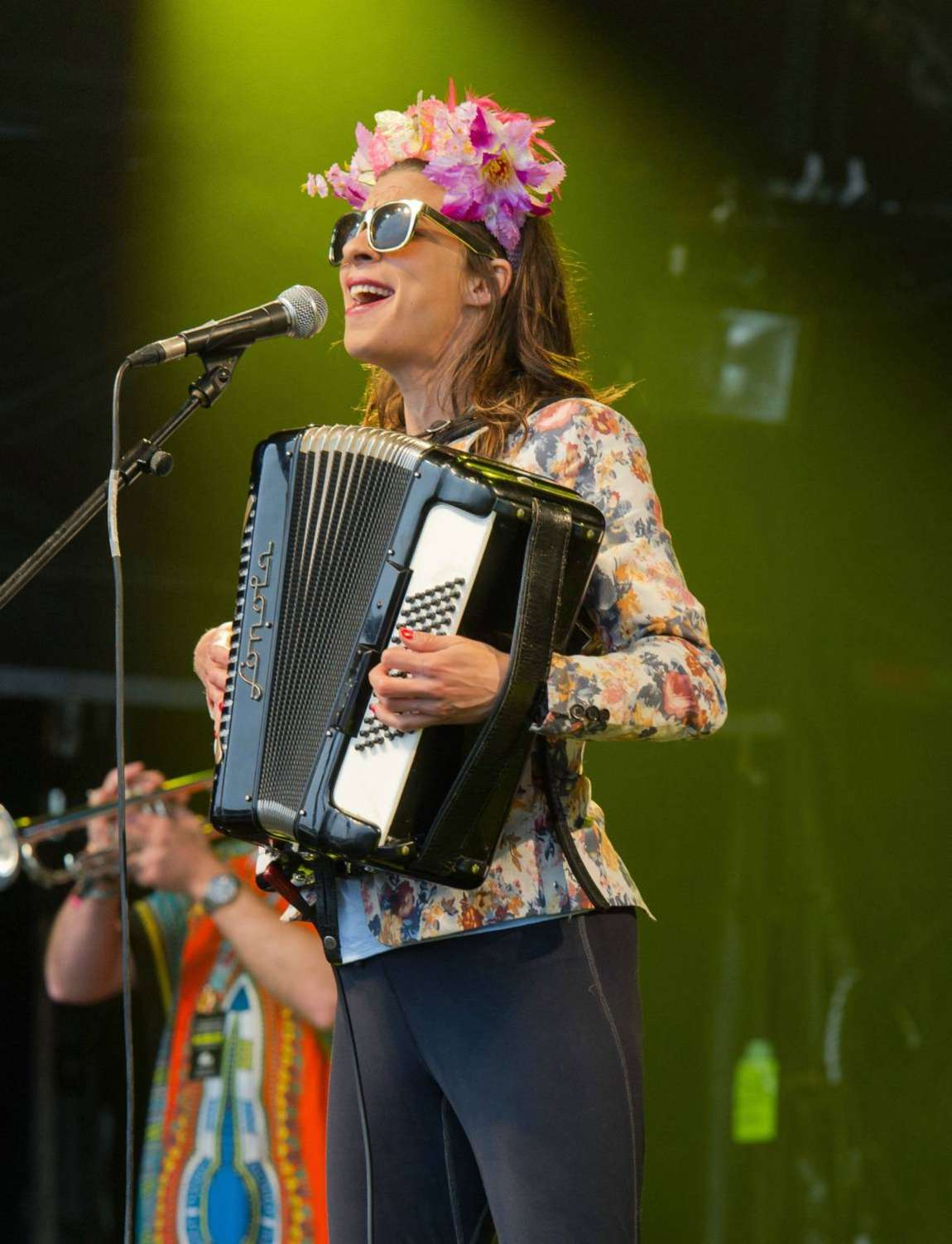 Natalia Tena Performs at WOMAD in Wiltshire