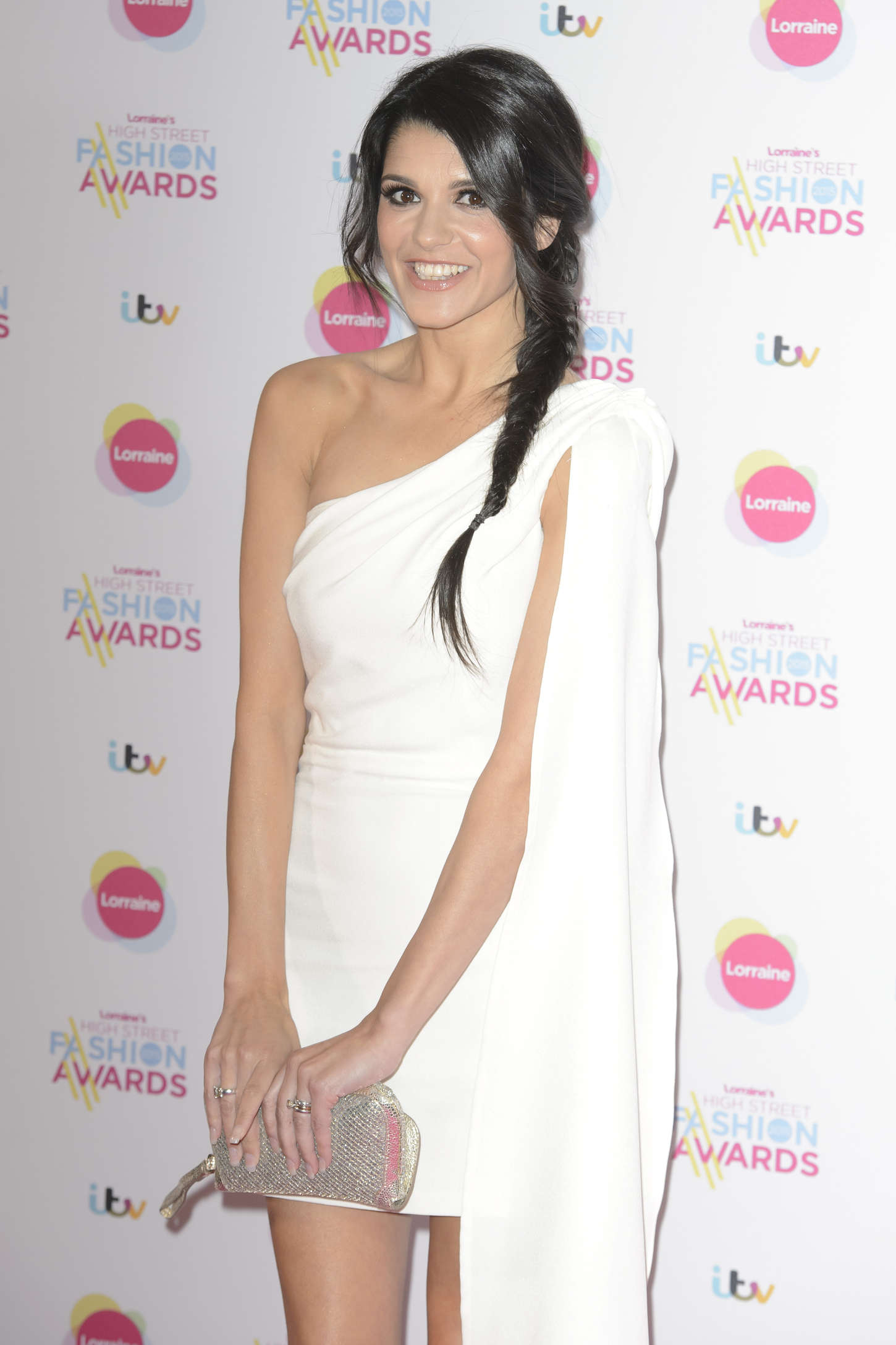Natalie Anderson Lorraines High Street Fashion Awards at Grand Connaught Rooms in London