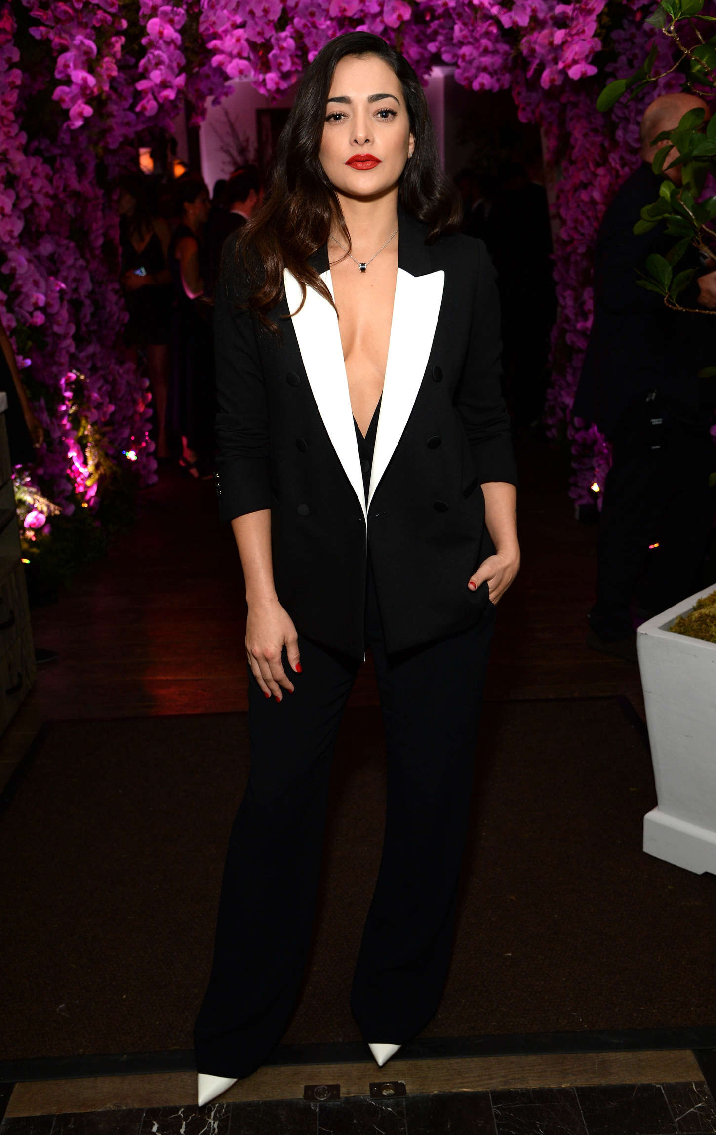 Natalie Martinez BVLGARI Save The Children STOP THINK GIVE Pre-Oscar Event in Beverly