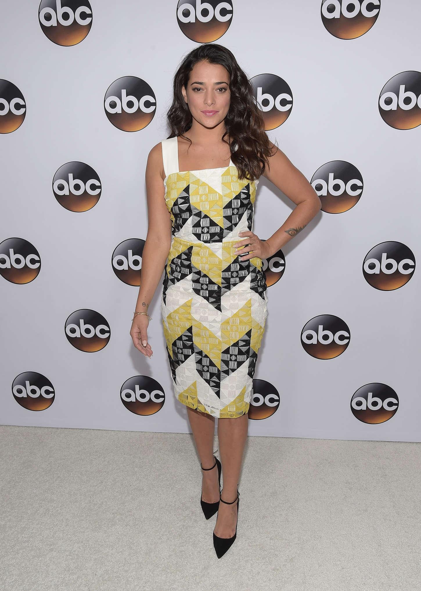 Natalie Martinez Disney ABC Television Groups TCA Winter Press Tour in Pasadena