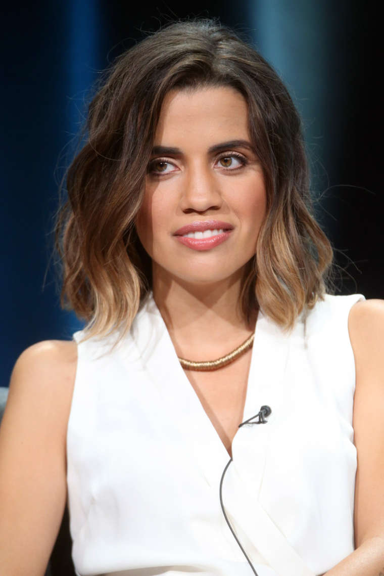 Natalie Morales The Grinder Panel Summer TCA Tour in Beverly Hills