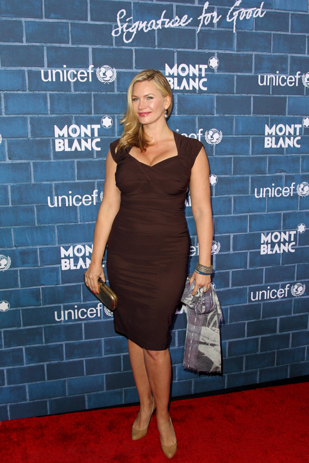 Natasha Henstridge Montblanc Unicef Pre-Oscar Charity Brunch in Los Angeles