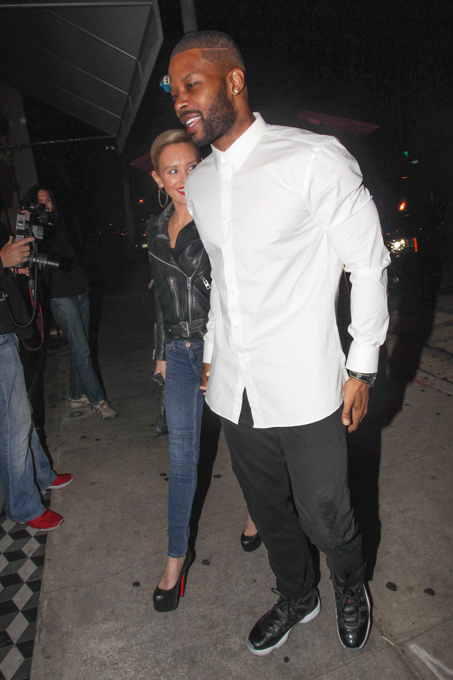 Nicky Whelan at Craigs Restaurant in West Hollywood