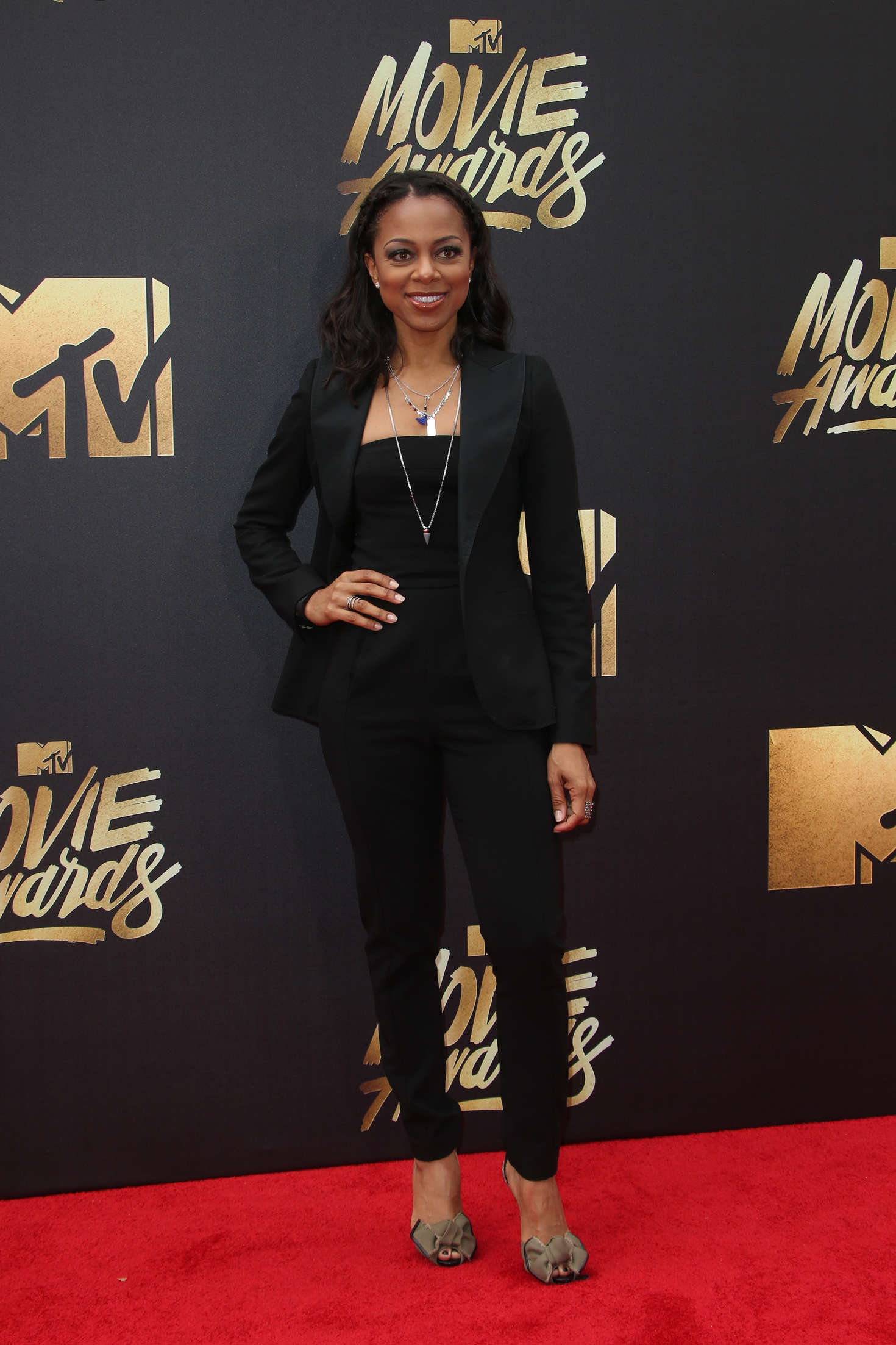 Nischelle Turner MTV Movie Awards in Burbank