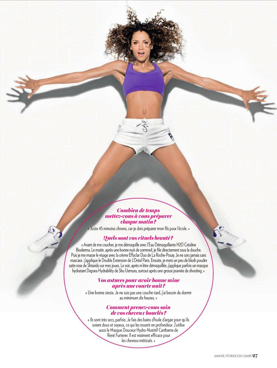Noemie Lenoir Shape France Magazine
