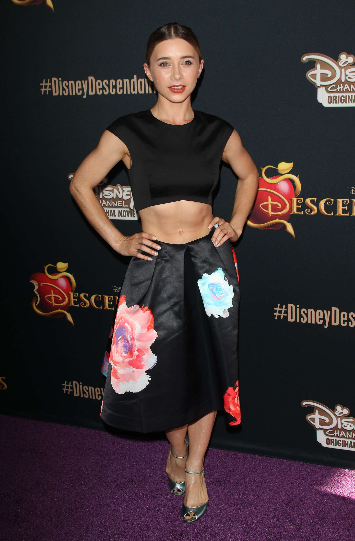 Olesya Rulin Disneys Descendants Premiere in Burbank