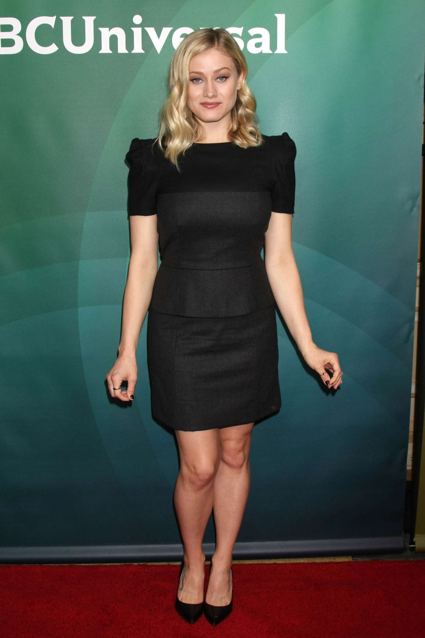 Olivia Taylor Dudley NBC Universal Winter Press Tour in Pasadena