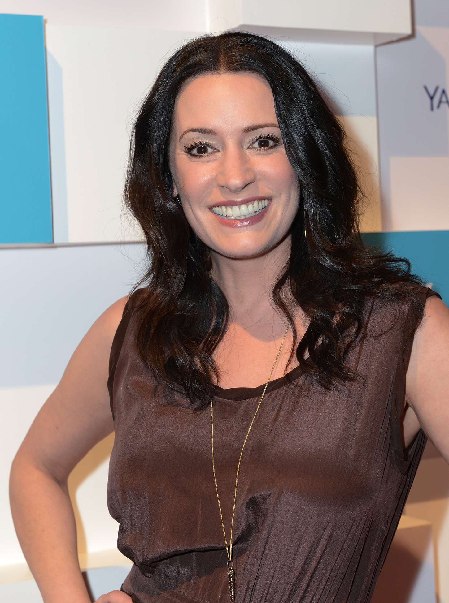 Paget Brewster Yahoos Community Greendale School Dance at SXSW in Austin