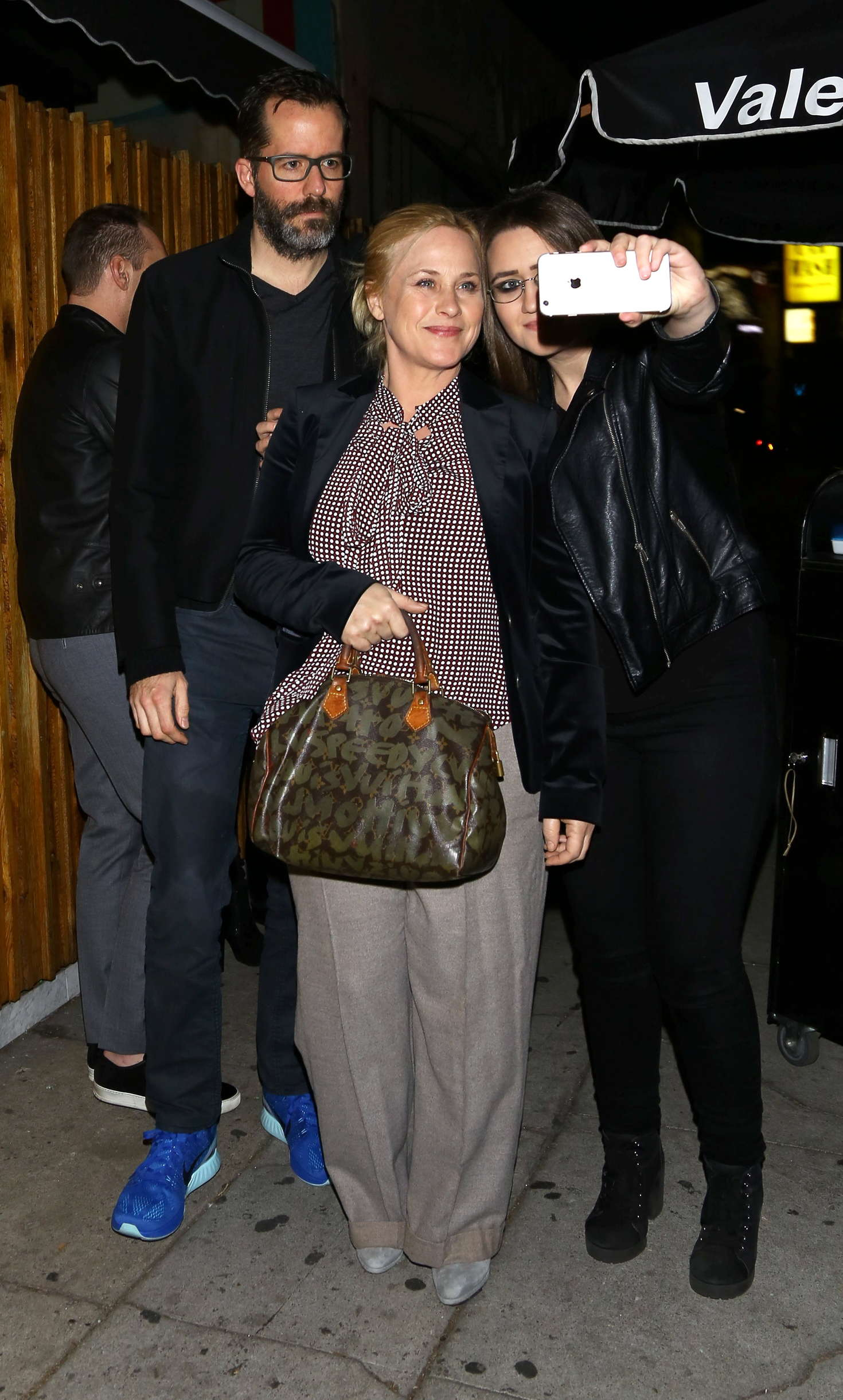 Patricia Arquette Arrives at The Nice Guy Club in Los Angeles