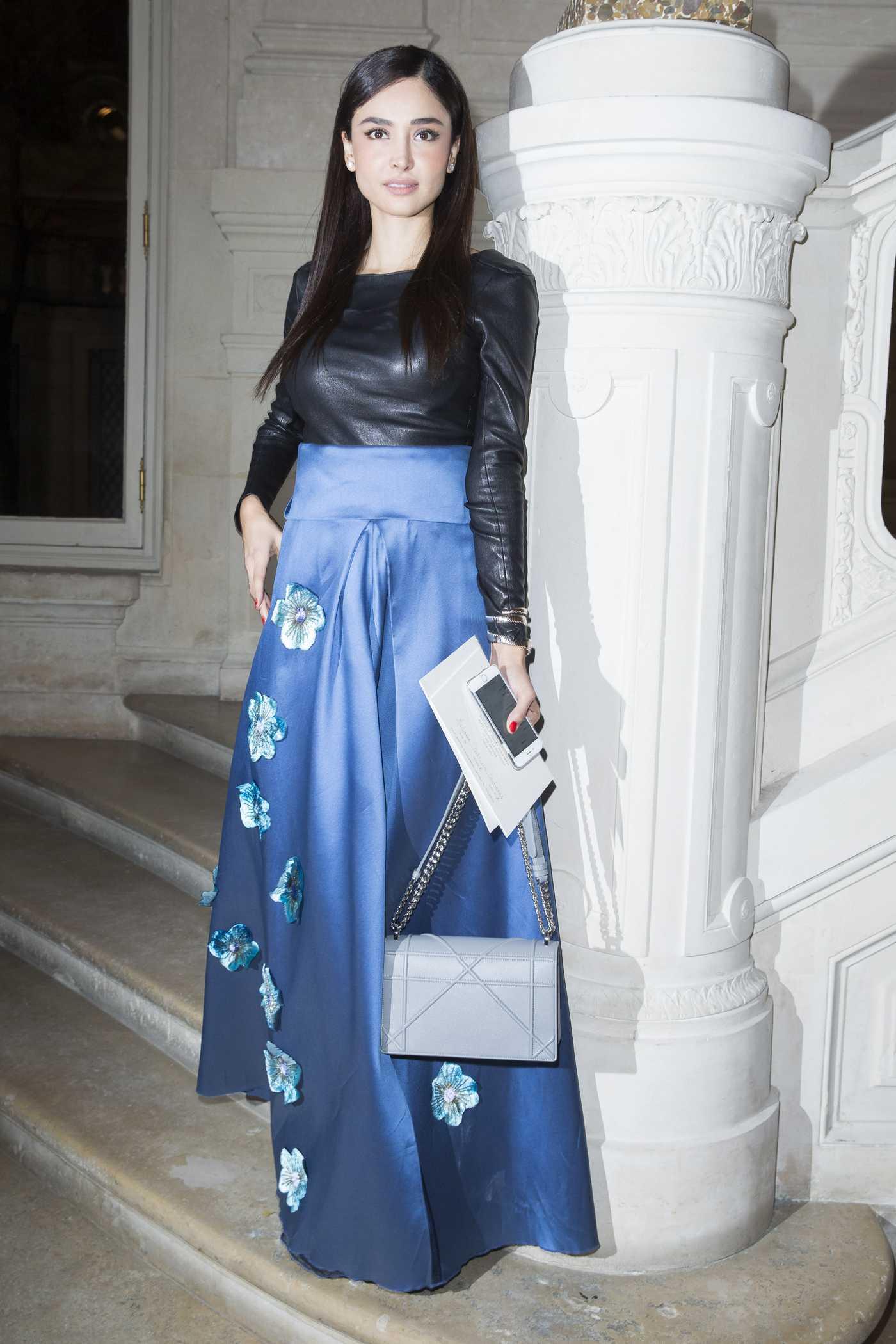 Patricia Contreras Haute Couture Fashion Show Valentino Spring-Summer in Paris