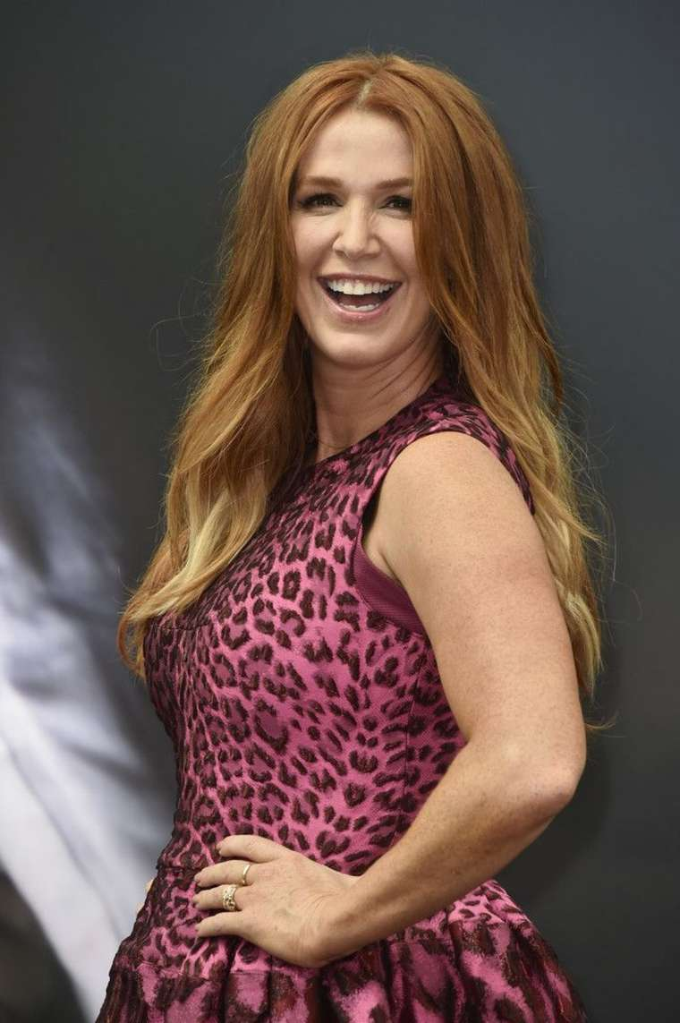 Poppy Montgomery Monte Carlo TV Festival Day in Monte Carlo