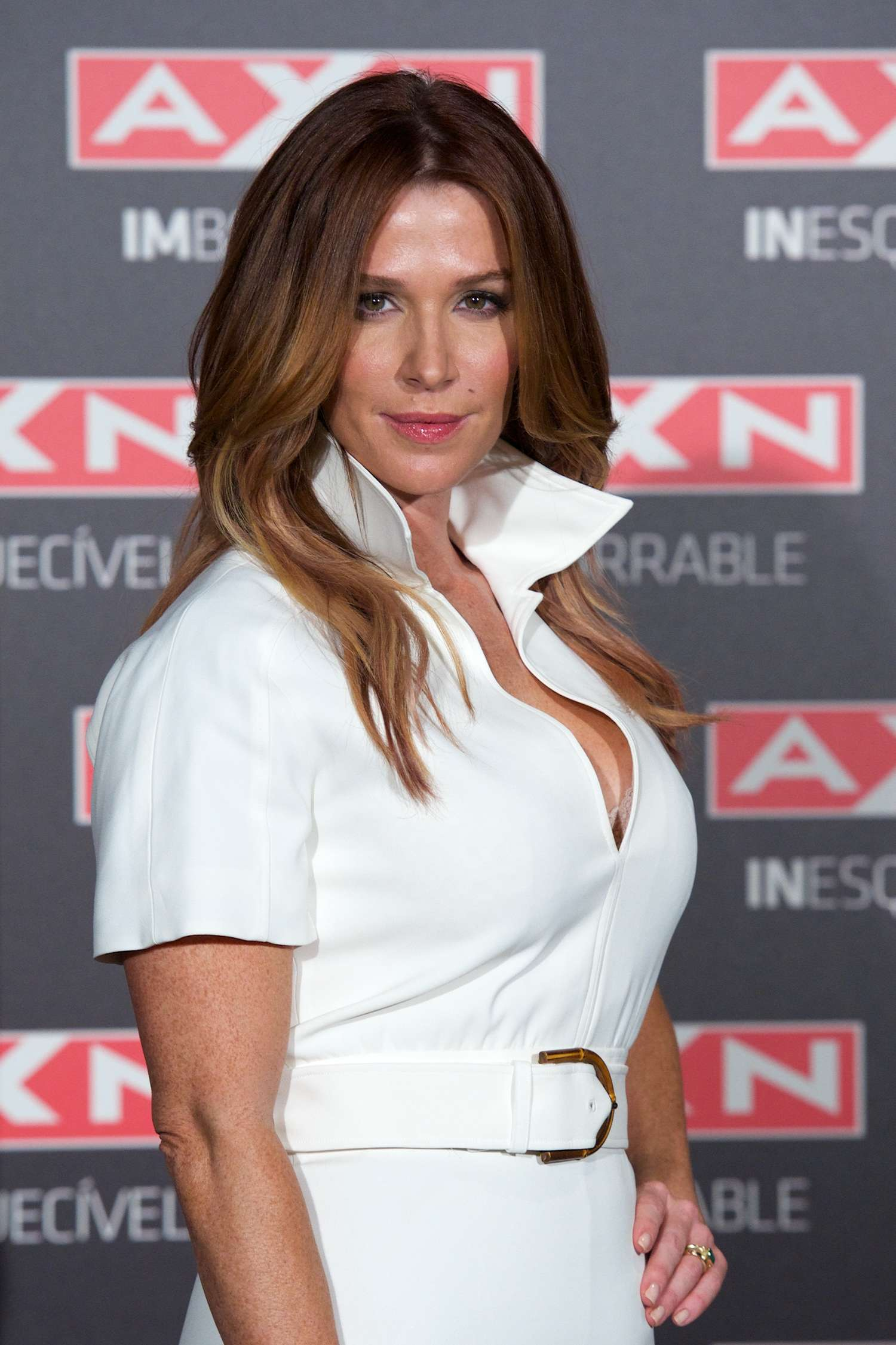Poppy Montgomery Unforgettable Photocall in Madrid