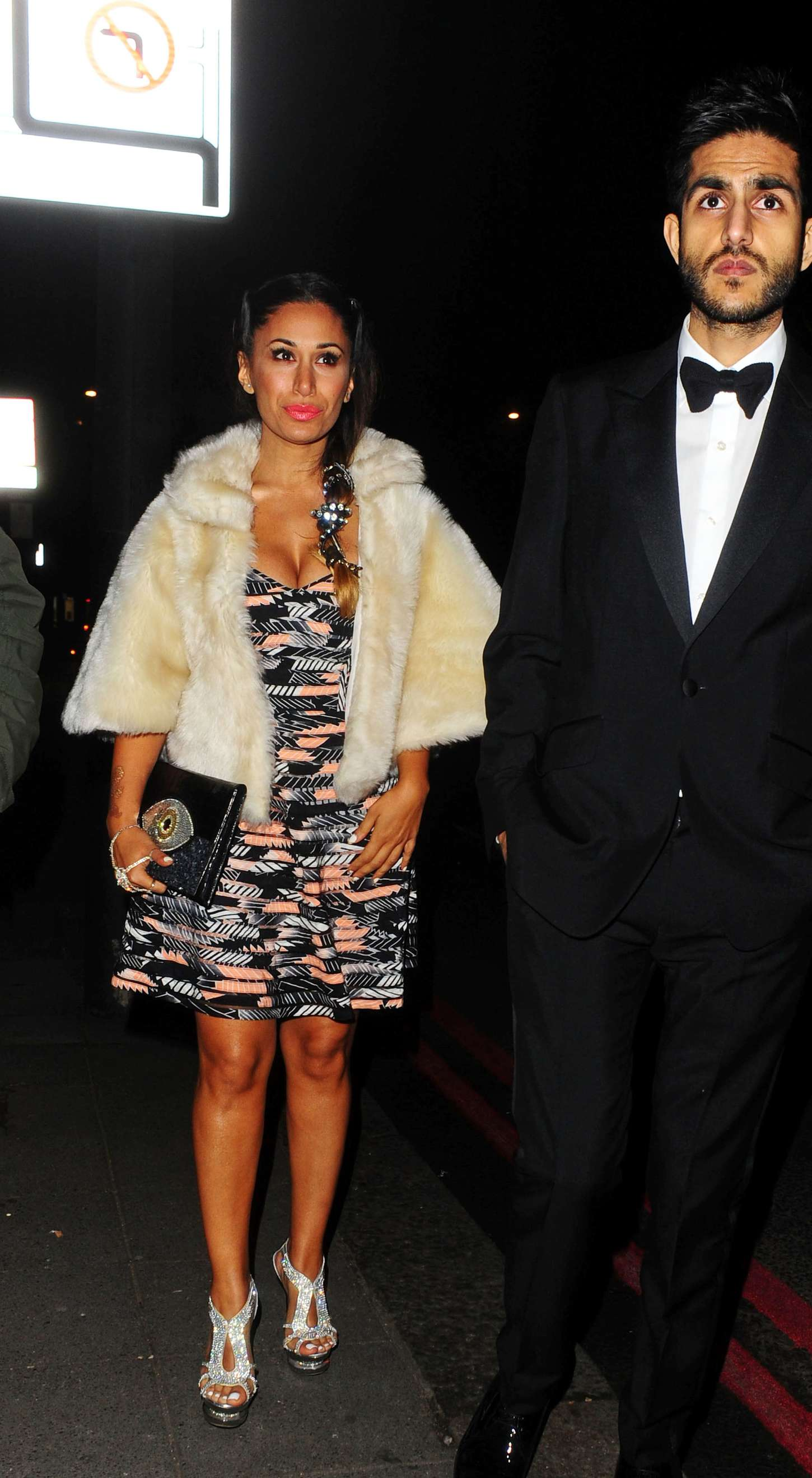 Preeya Kalidas Leaving The BAFTAs in London