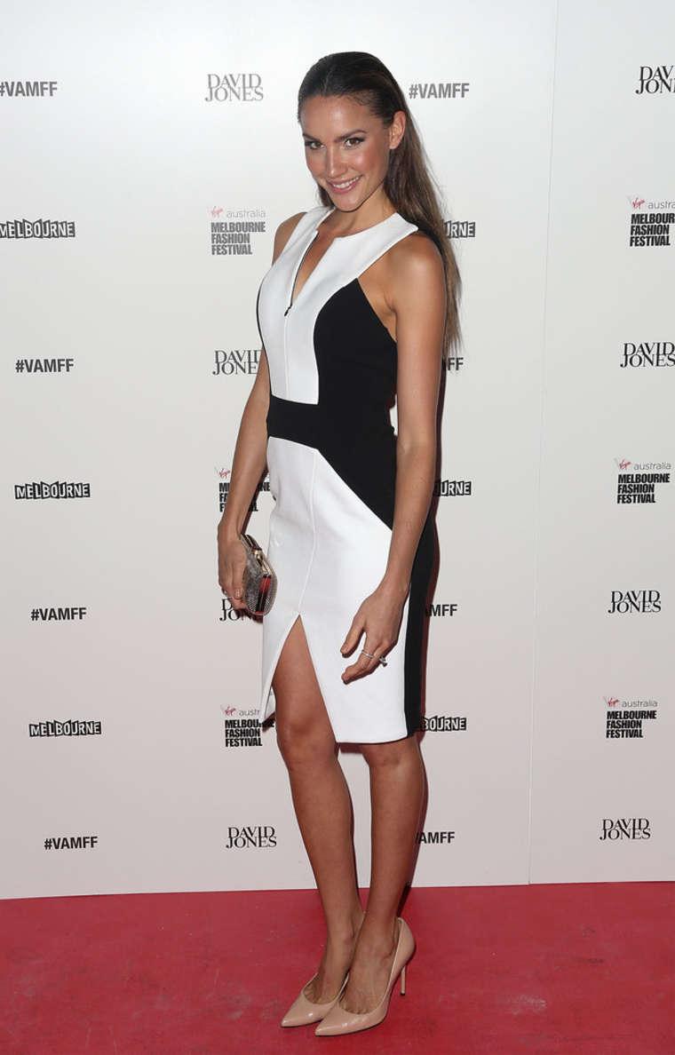 Rachael Finch David Jones Show Melbourne Fashion Festival