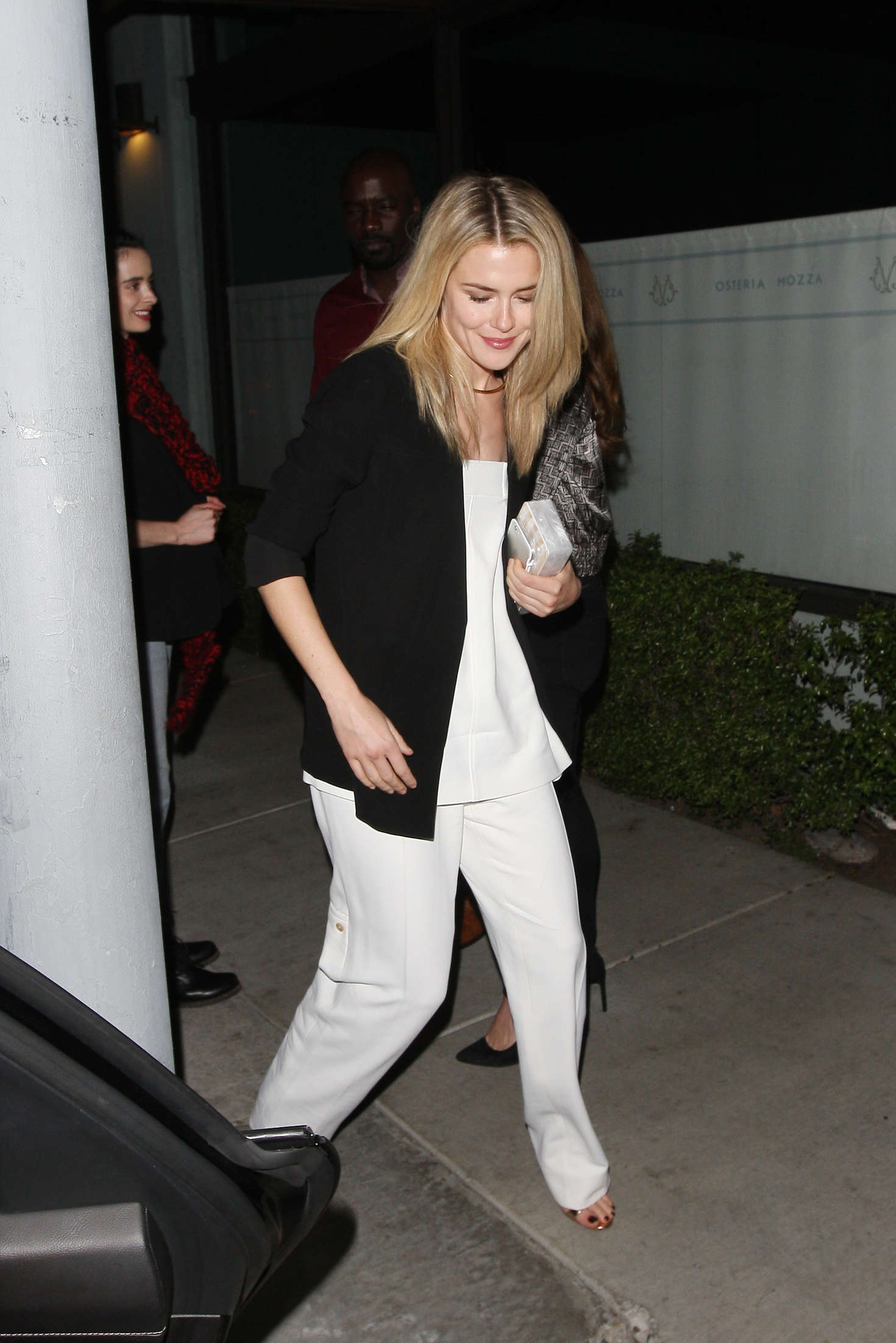 Rachael Taylor at Osteria Mozza in Hollywood