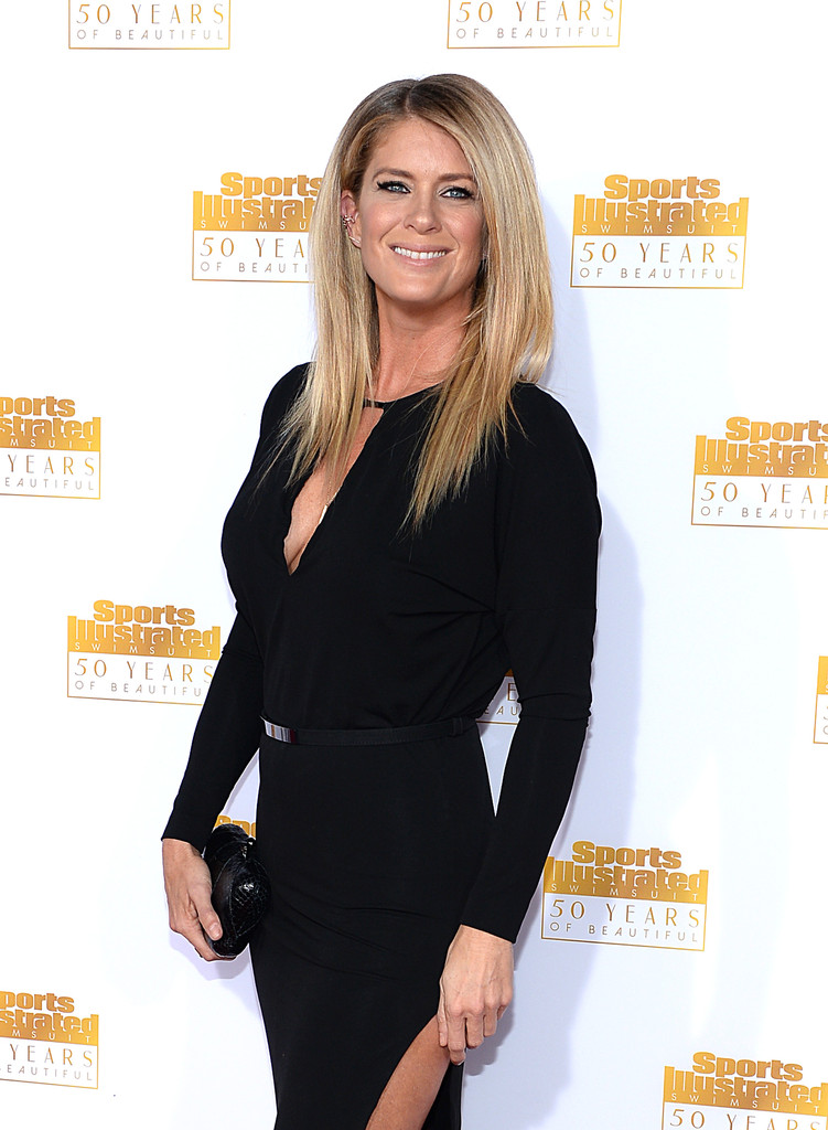 Rachel Hunter Anniversary of the SI Swimsuit Issue Celebration in Hollywood