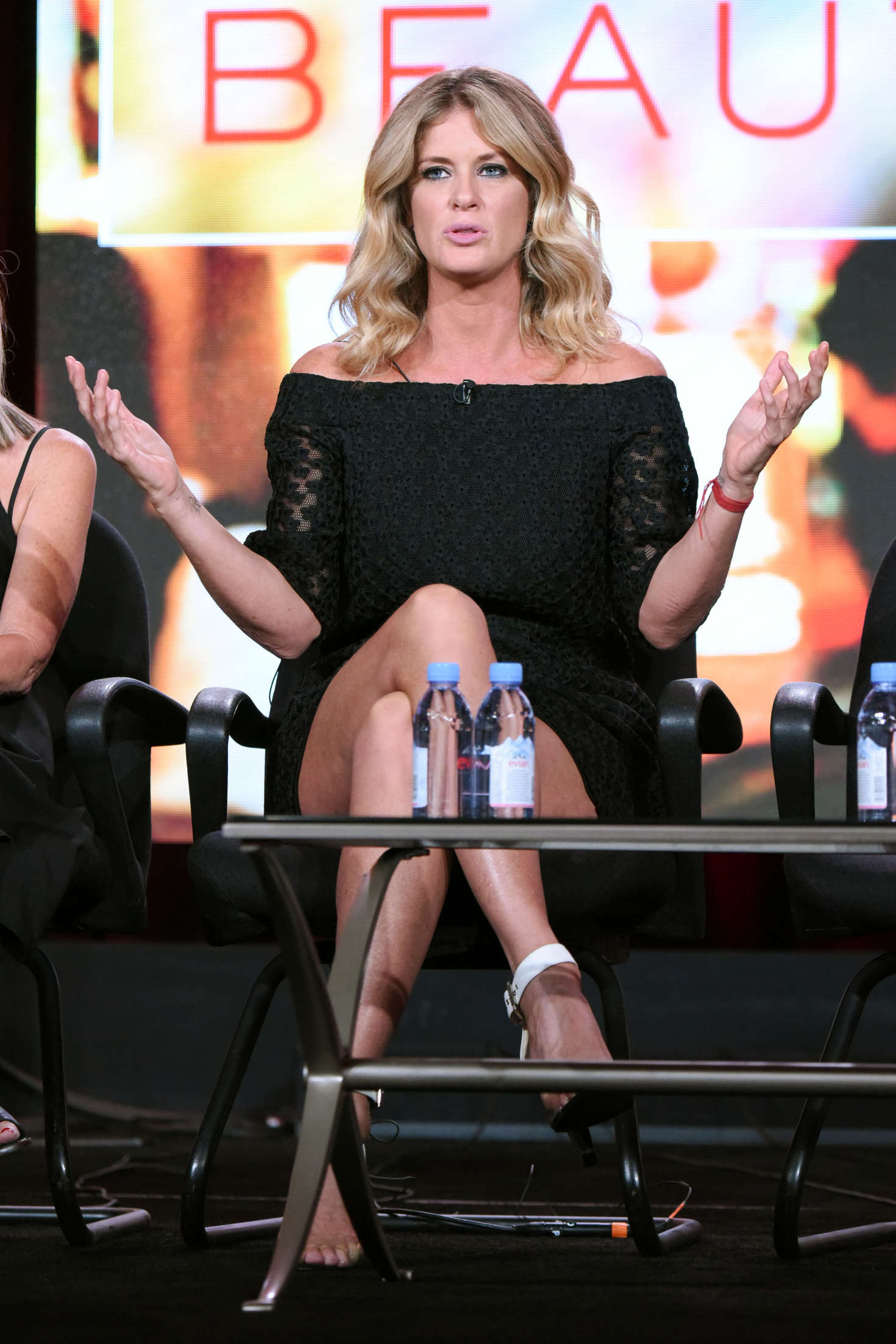 Rachel Hunter Ovation Winter TCA in Pasadena