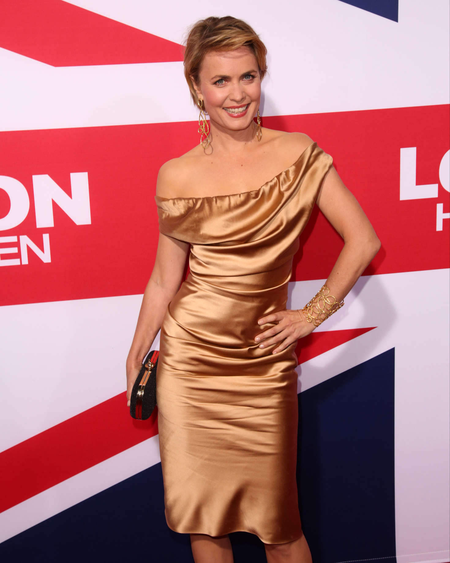 Radha Mitchell London Has Fallen Premiere in Los Angeles