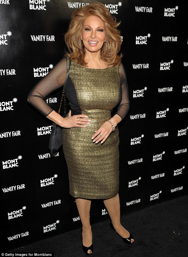 Raquel Welch at Mont Blanc Party in Los Angeles