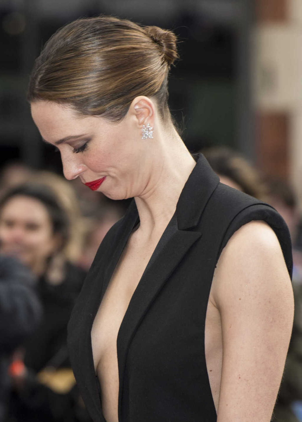 Rebecca Hall at the Iron Man Premiere in London