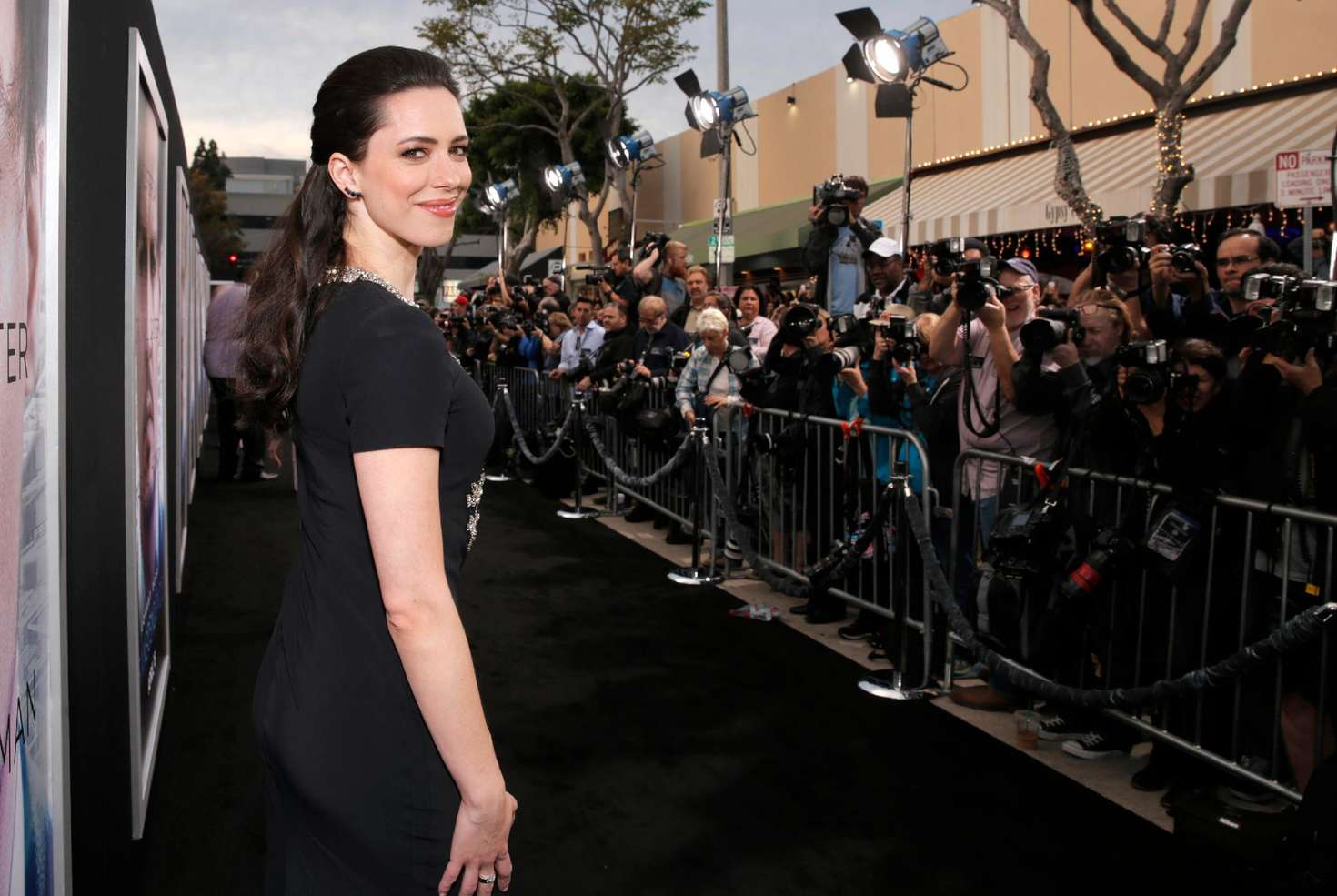 Rebecca Hall Transcendence Premiere in Los Angeles
