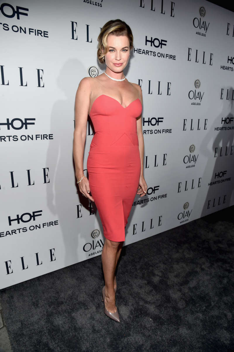 Rebecca Romijn ELLEs Annual Women in Television Celebration in Los Angeles
