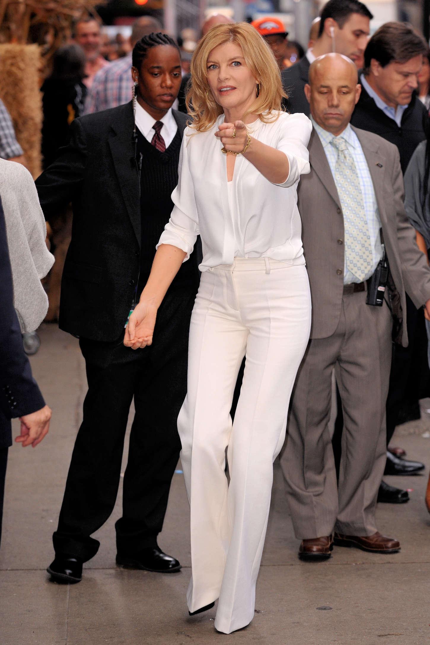 Rene Russo Good Morning America in New York