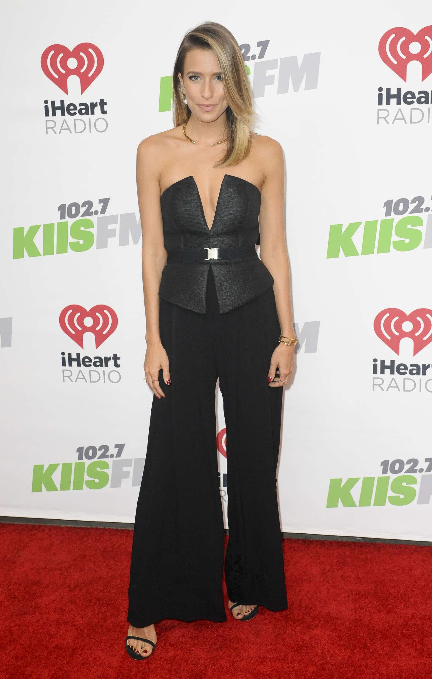 Renee Bargh KIIS FMs Jingle Ball in Los Angeles