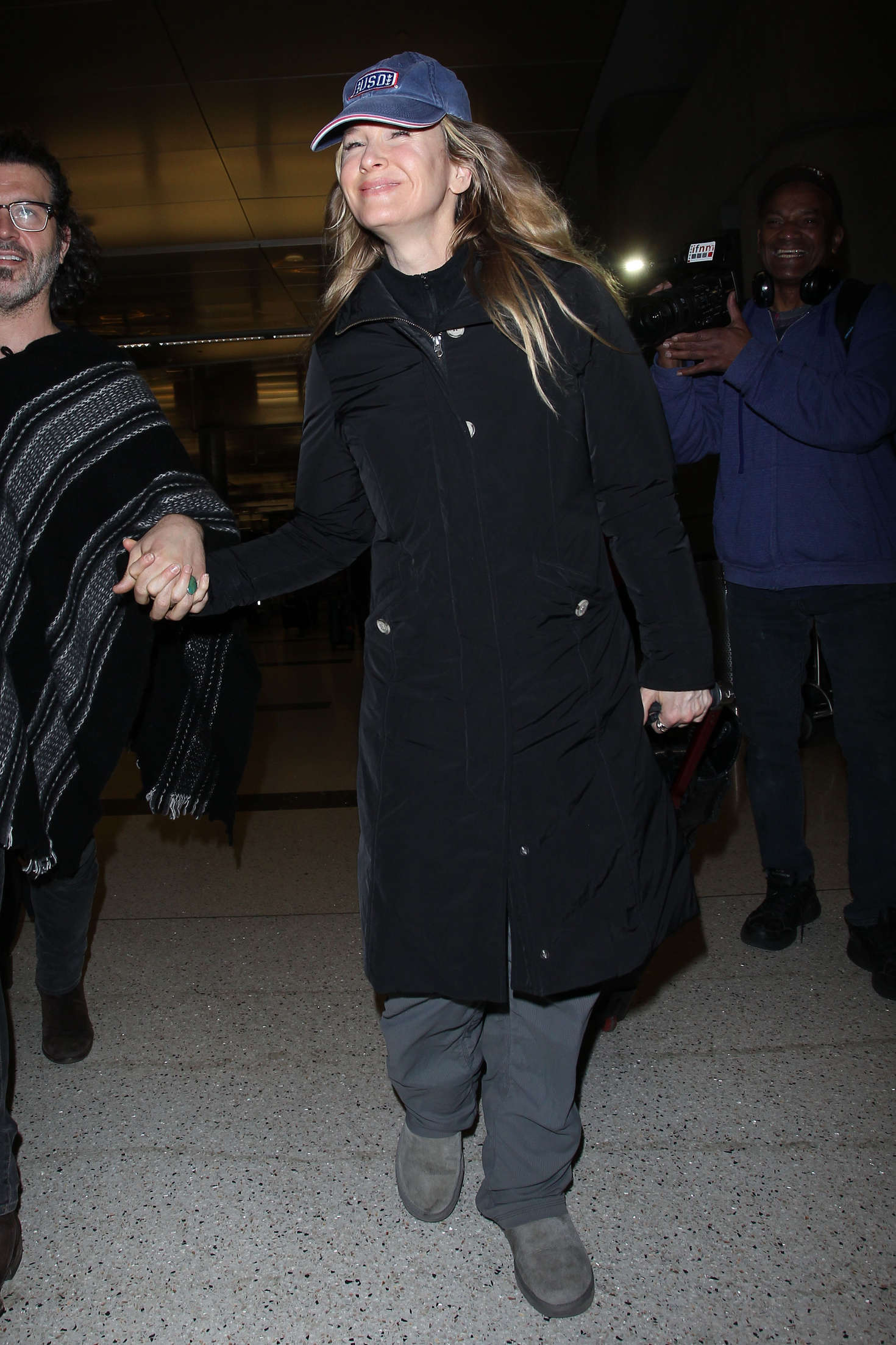 Renee Zellweger at LAX Airport in Los Angeles