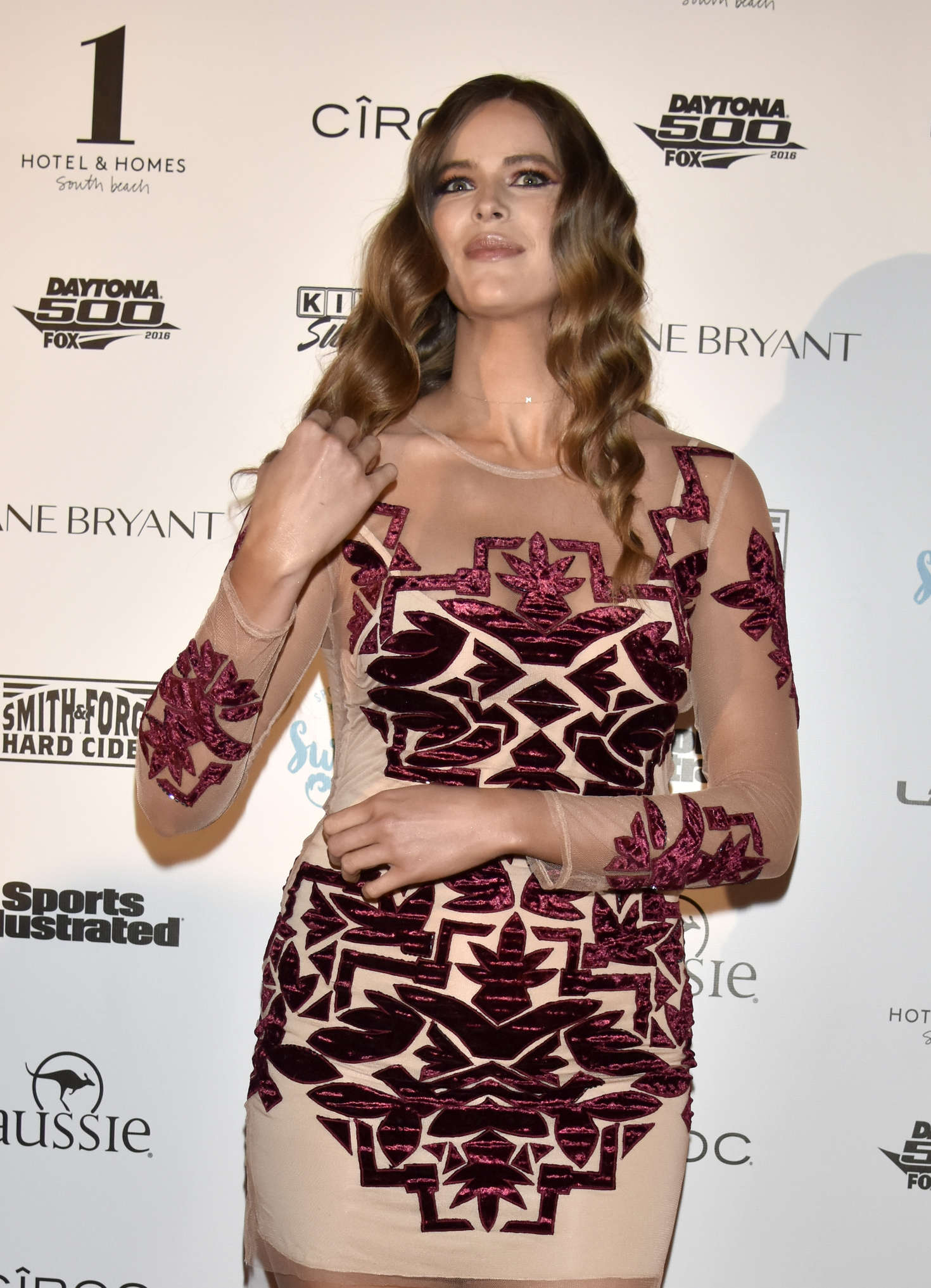 Robyn Lawley The Sports Illustrated Swimsuit Swim BBQ VIP in Miami