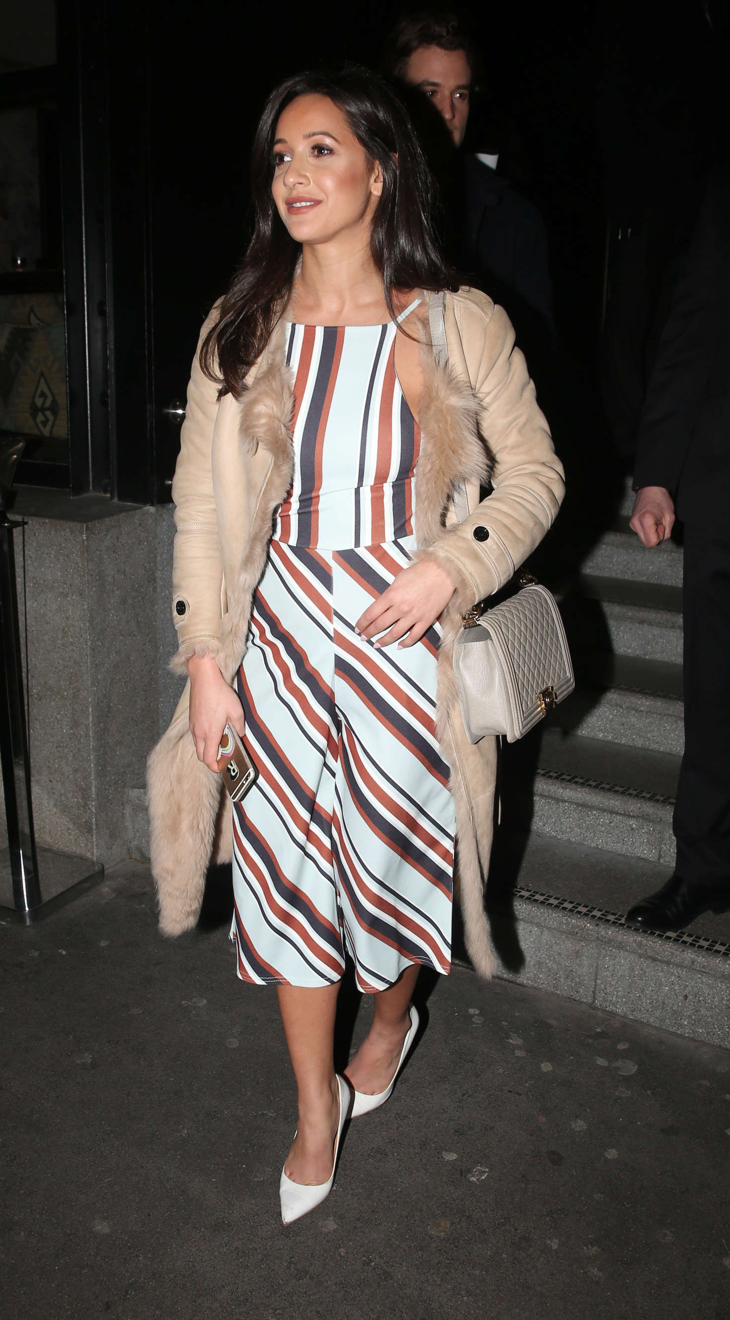Roxie Nafousi at the launch of Wardour Street in London