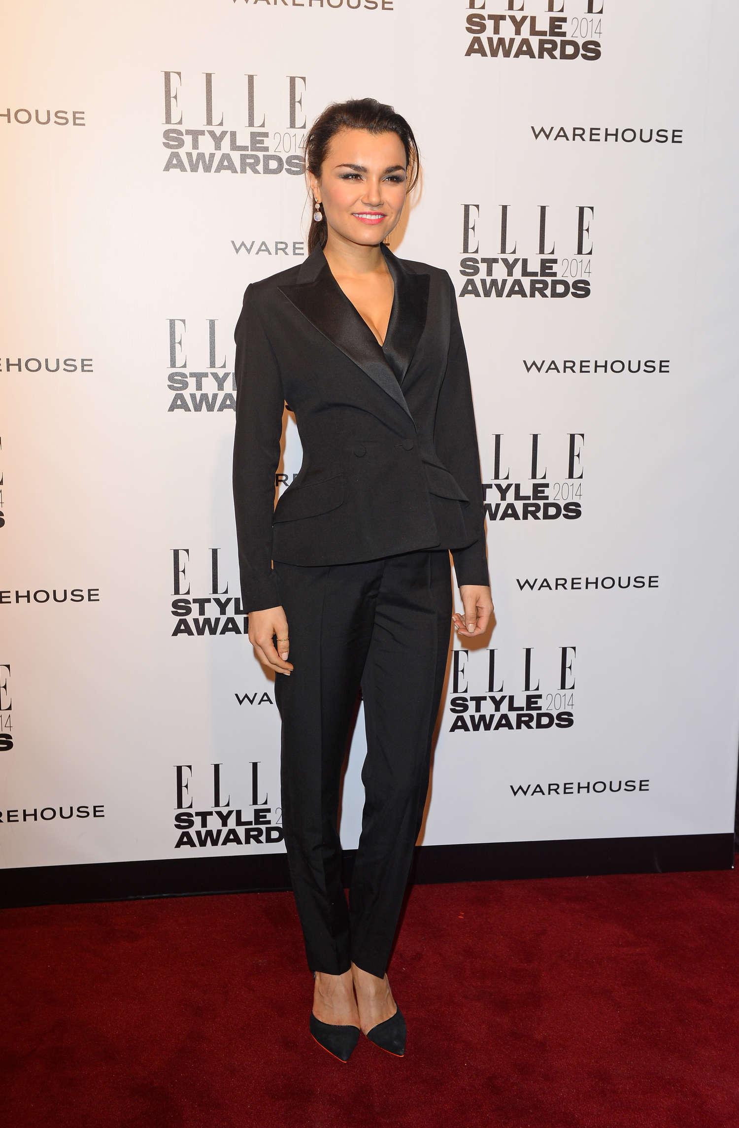 Samantha Barks Elle Style Awards in London