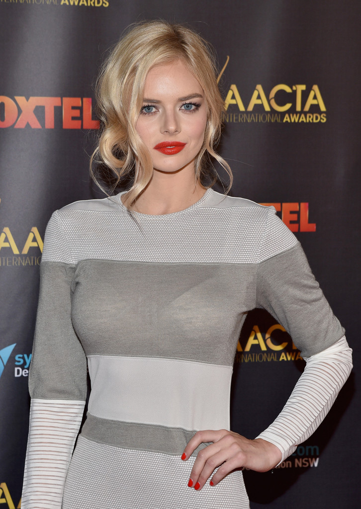 Samara Weaving Annual AACTA International Awards in Hollywood