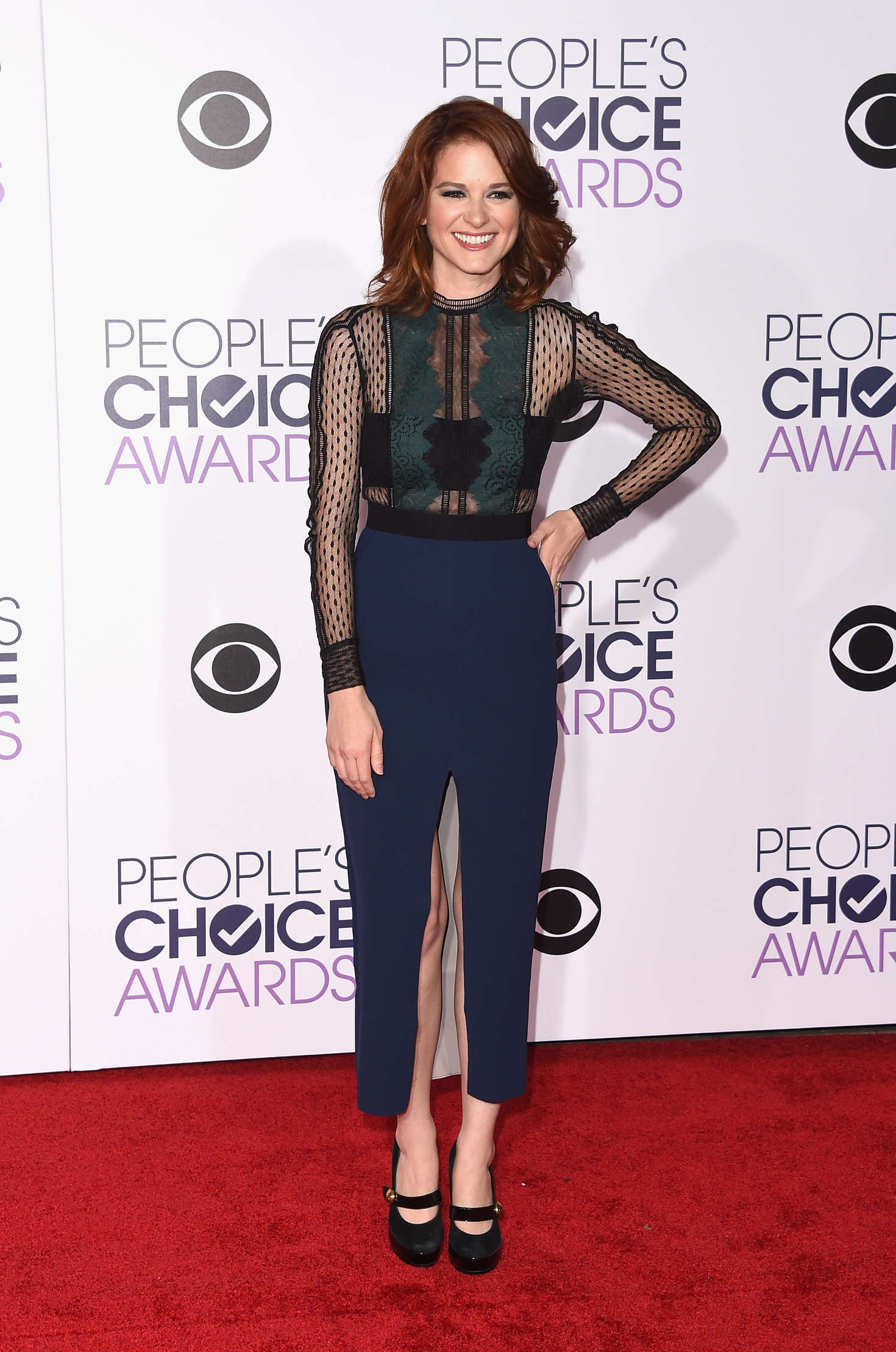 Sarah Drew Peoples Choice Awards in Los Angeles