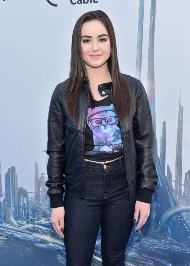 Sarah Gilman Tomorrowland Premiere in Anaheim