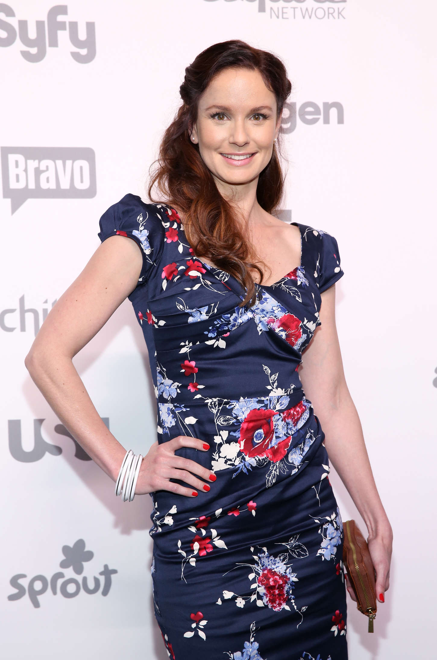 Sarah Wayne Callies NBCUniversal Cable Entertainment Upfront in New York