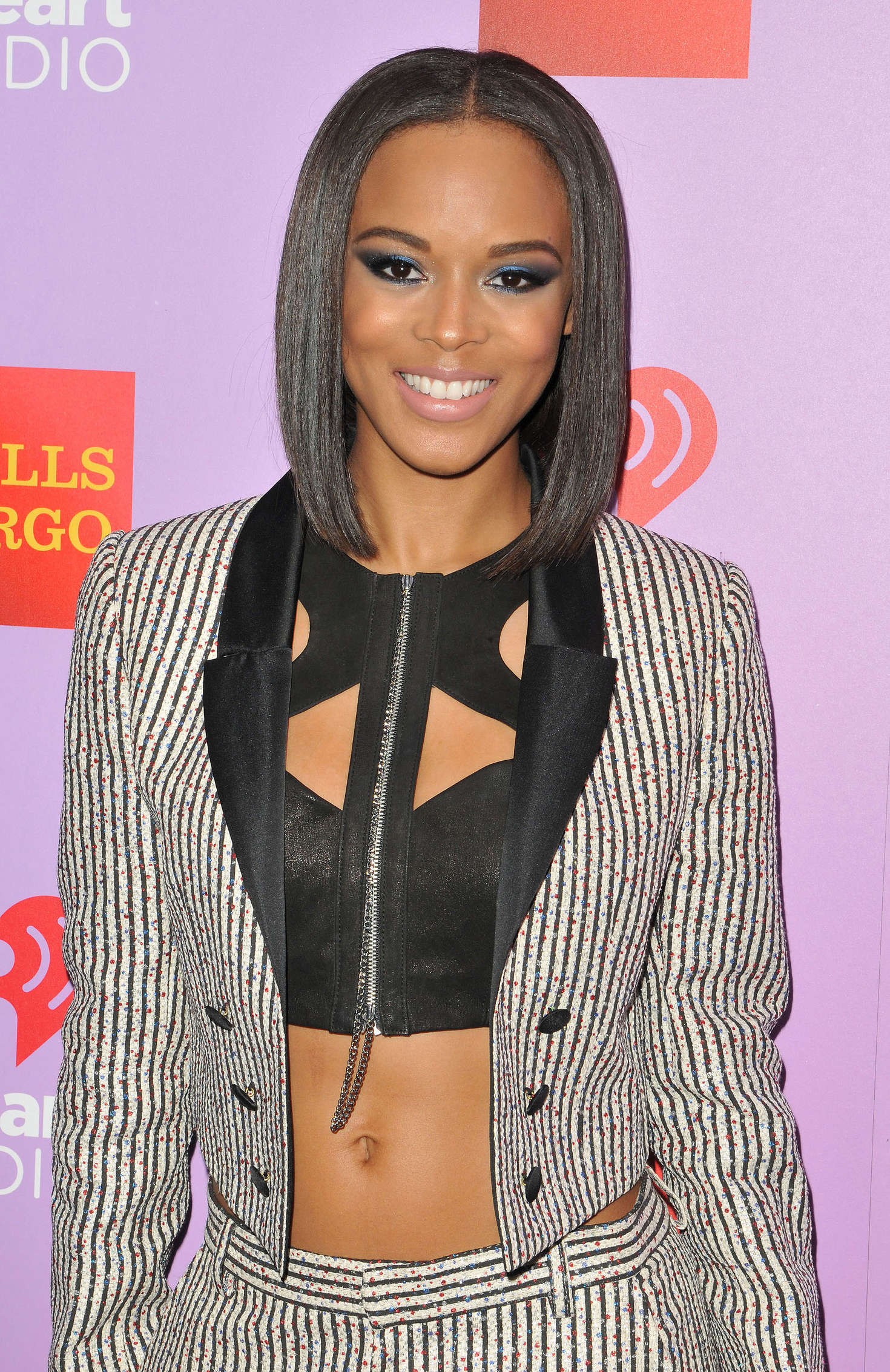 Serayah McNeill iHeart80s Party in Los Angeles