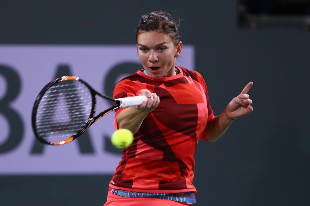 Simona Halep BNP Paribas Open in Indian Wells