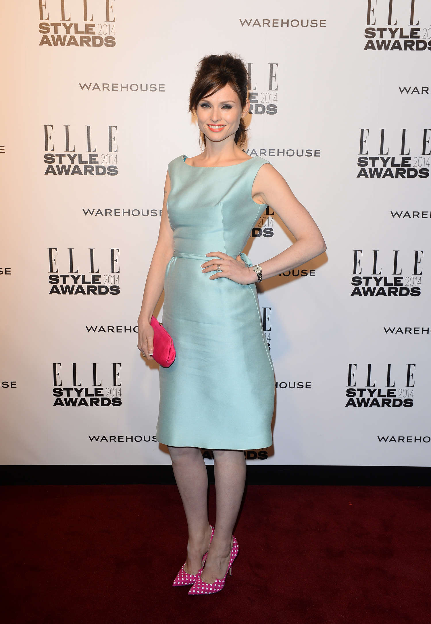 Sophie Ellis-Bextor Elle Style Awards in London