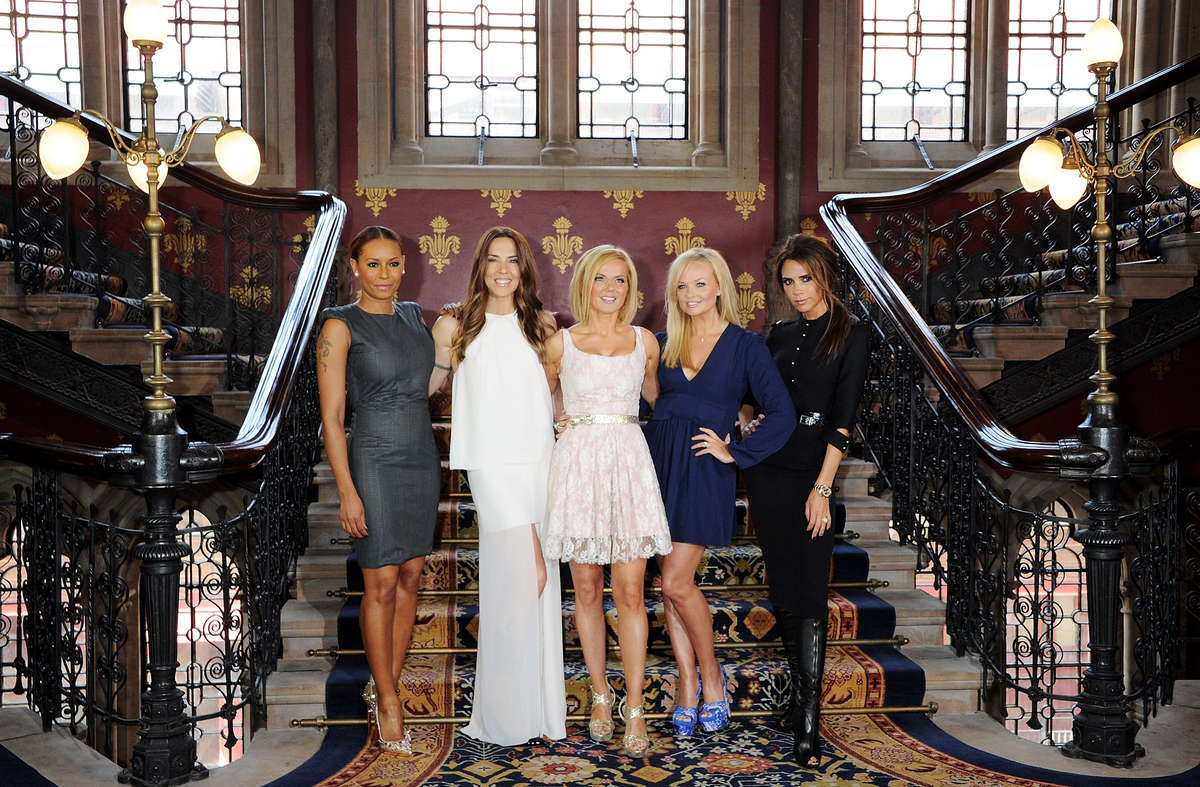 Spice Girls -Viva Forever Press Launch London
