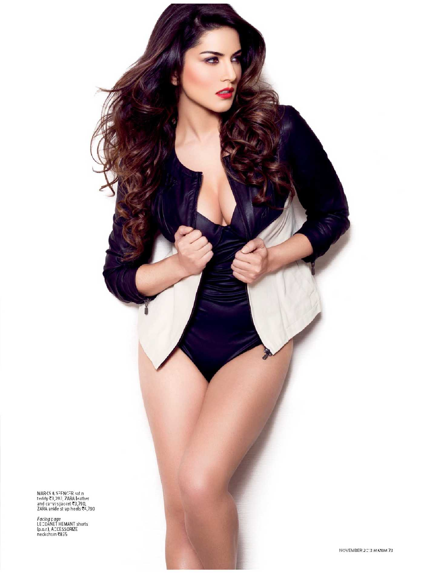 Sunny Leone Maxim India